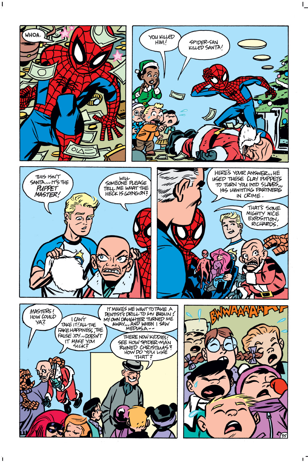 Spider-Man's Tangled Web Issue #21 #21 - English 35