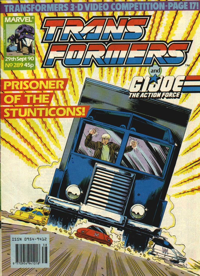 The Transformers (UK) 289 Page 1