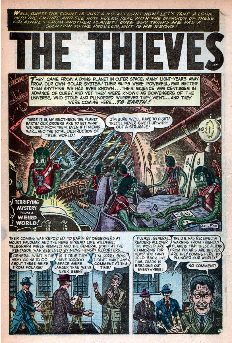 Read online Adventures into Weird Worlds comic -  Issue #27 - 19