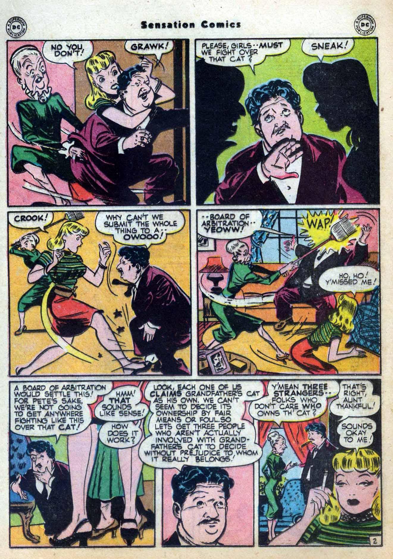Read online Sensation (Mystery) Comics comic -  Issue #59 - 25