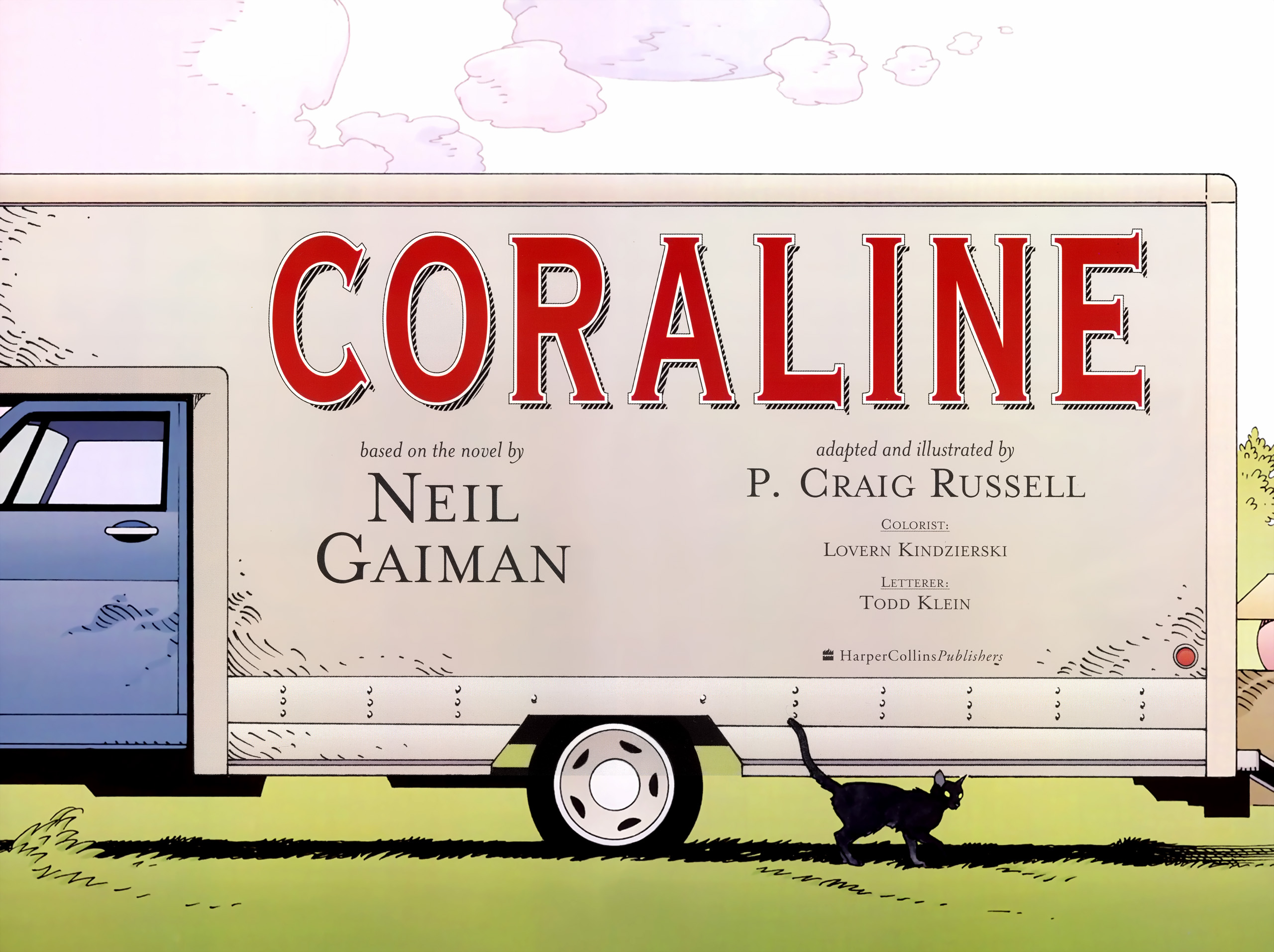 Read online Coraline comic -  Issue #1 - 4