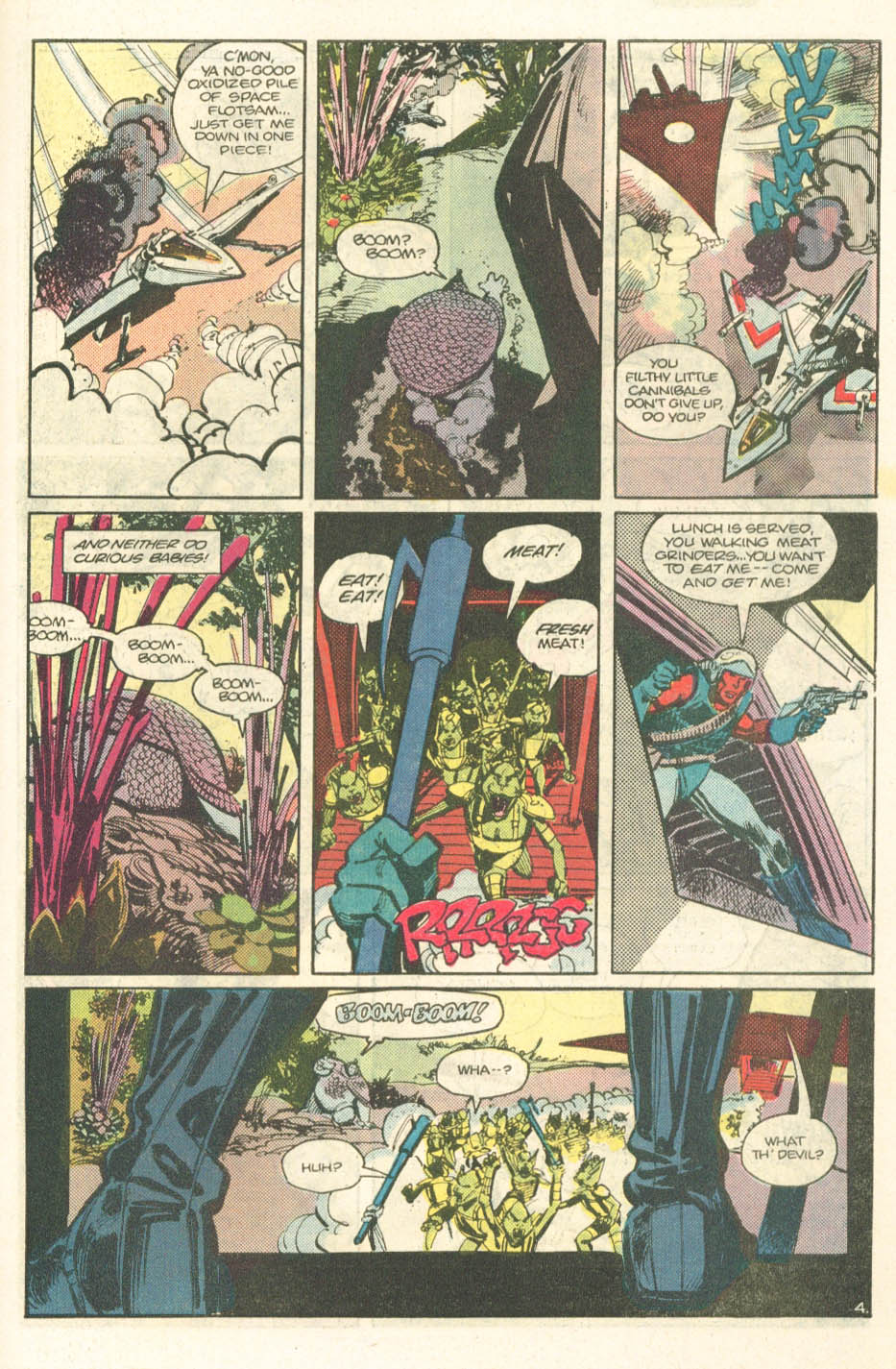 Read online Atari Force (1984) comic -  Issue #14 - 25