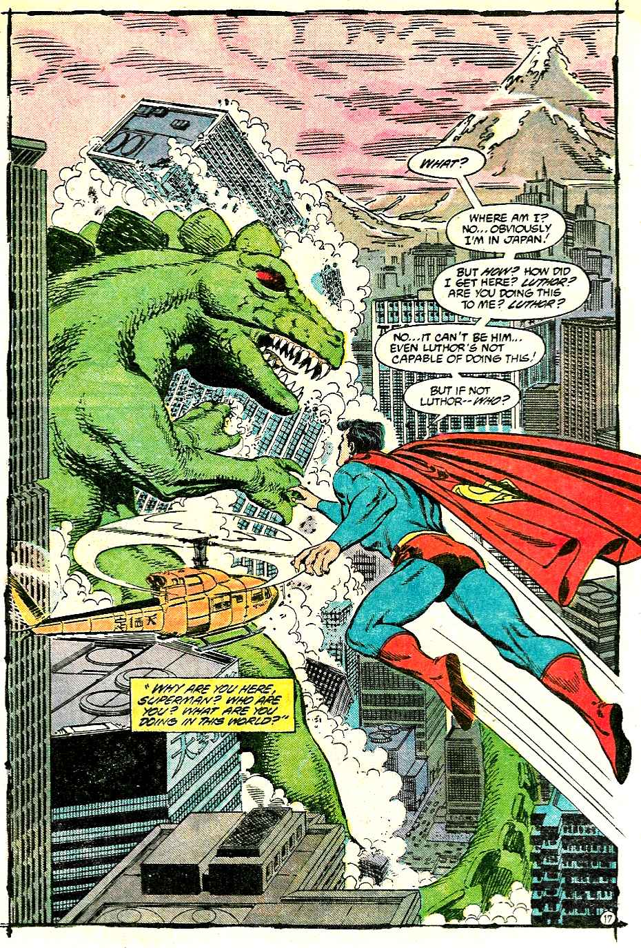 Read online Adventures of Superman (1987) comic -  Issue #427 - 17