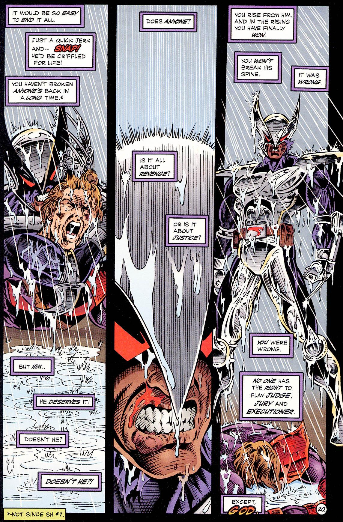 Read online ShadowHawk comic -  Issue #18 - 20