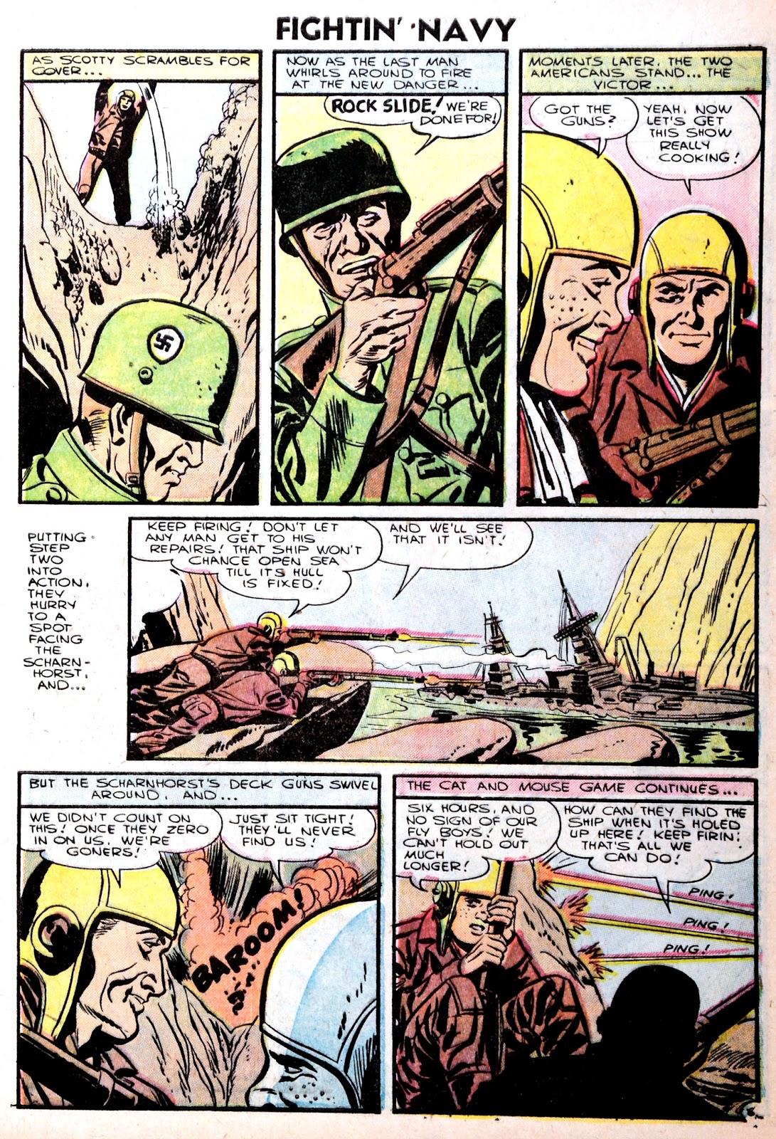 Read online Fightin' Navy comic -  Issue #75 - 9