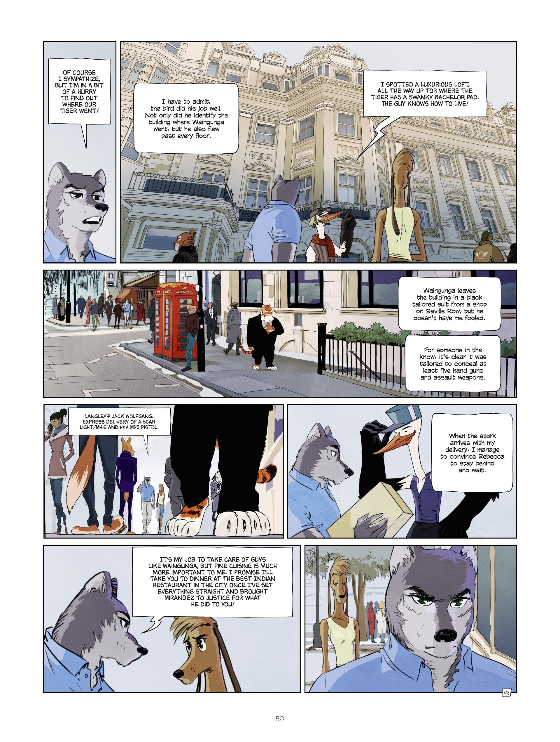 Read online Jack Wolfgang comic -  Issue #3 - 52