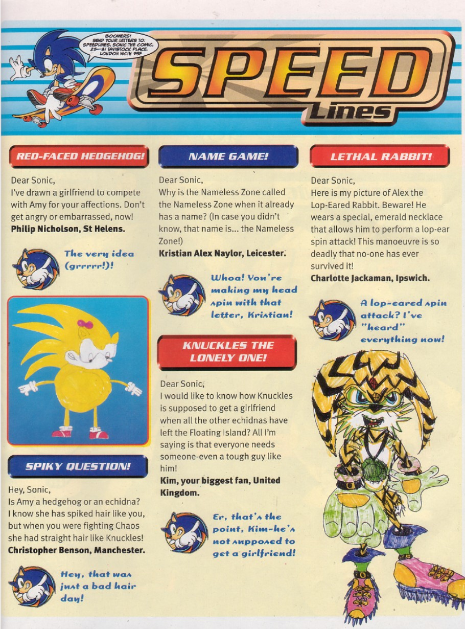 Read online Sonic the Comic comic -  Issue #205 - 2
