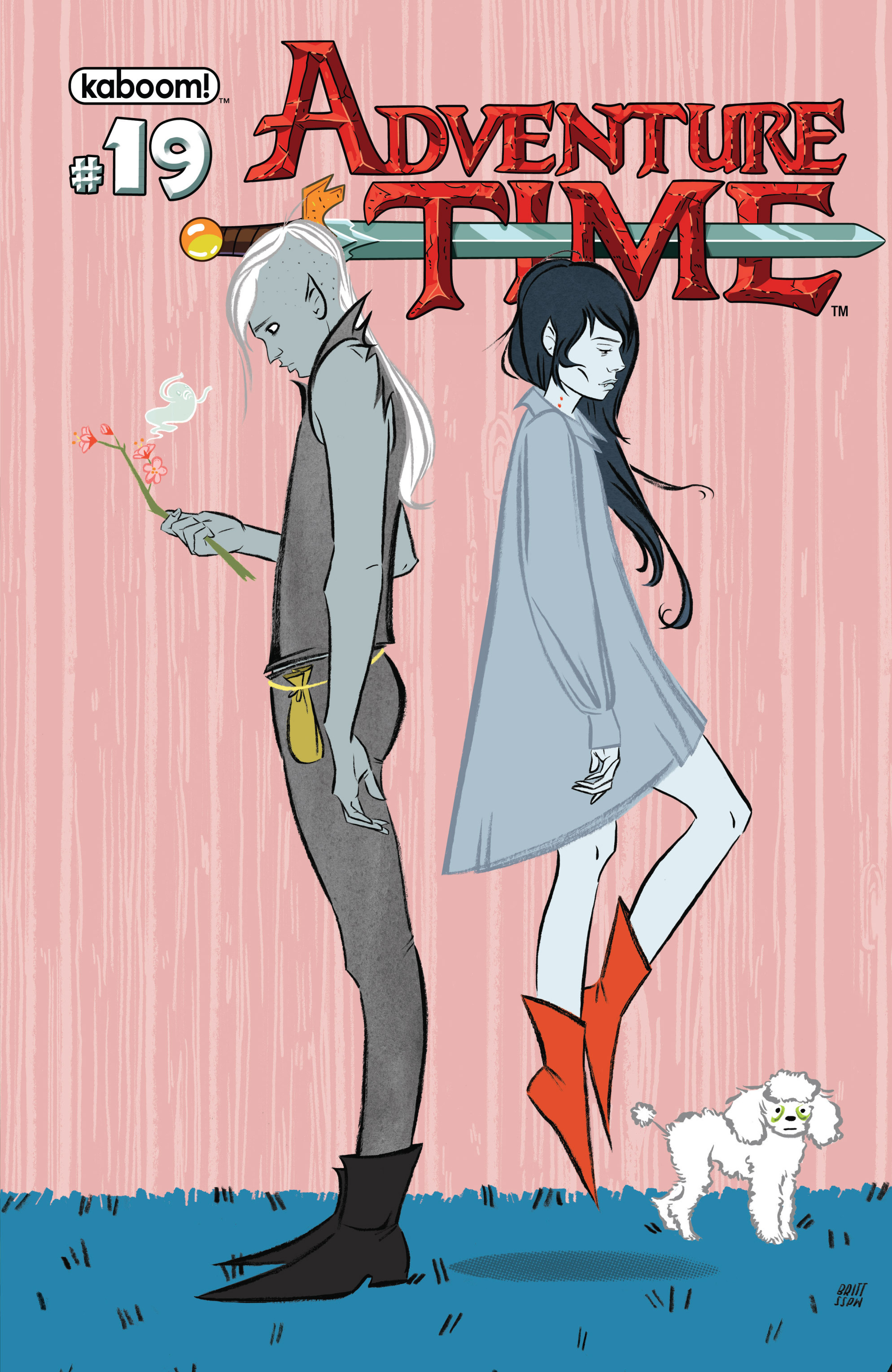 Read online Adventure Time comic -  Issue #19 - 2