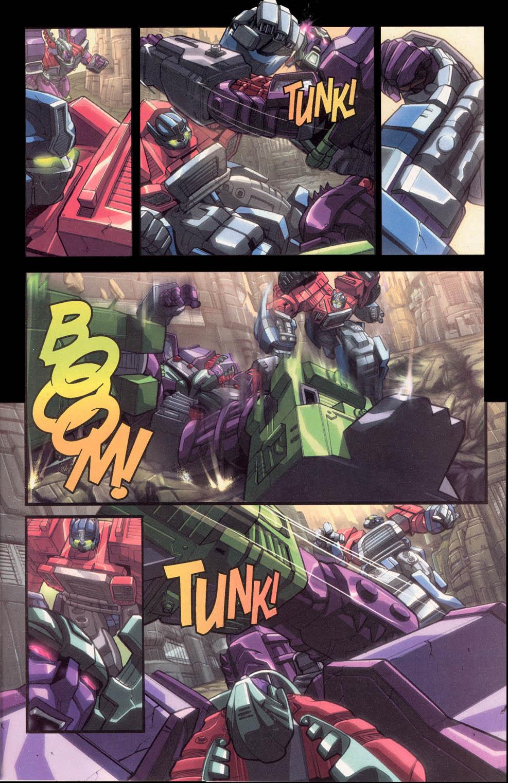 Read online Transformers Armada comic -  Issue #0 - 9