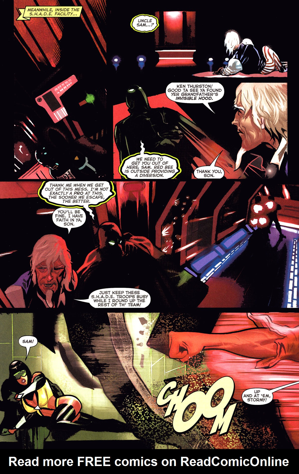 Read online Uncle Sam and the Freedom Fighters (2006) comic -  Issue #6 - 6