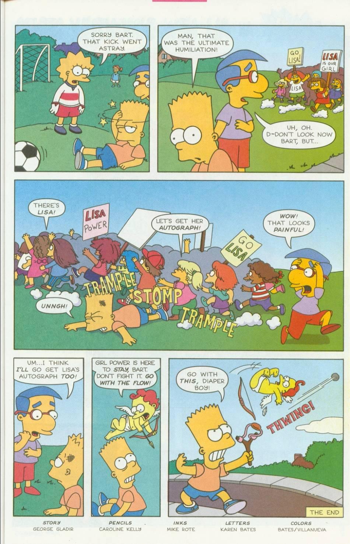 Read online Simpsons Comics Presents Bart Simpson comic -  Issue #1 - 19