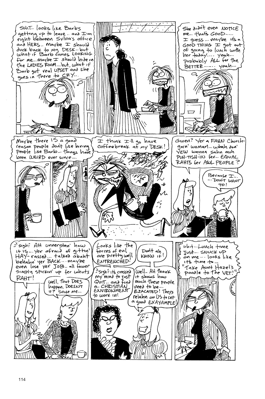 Read online Life's a Bitch: The Complete Bitchy Bitch Stories comic -  Issue # TPB (Part 2) - 12