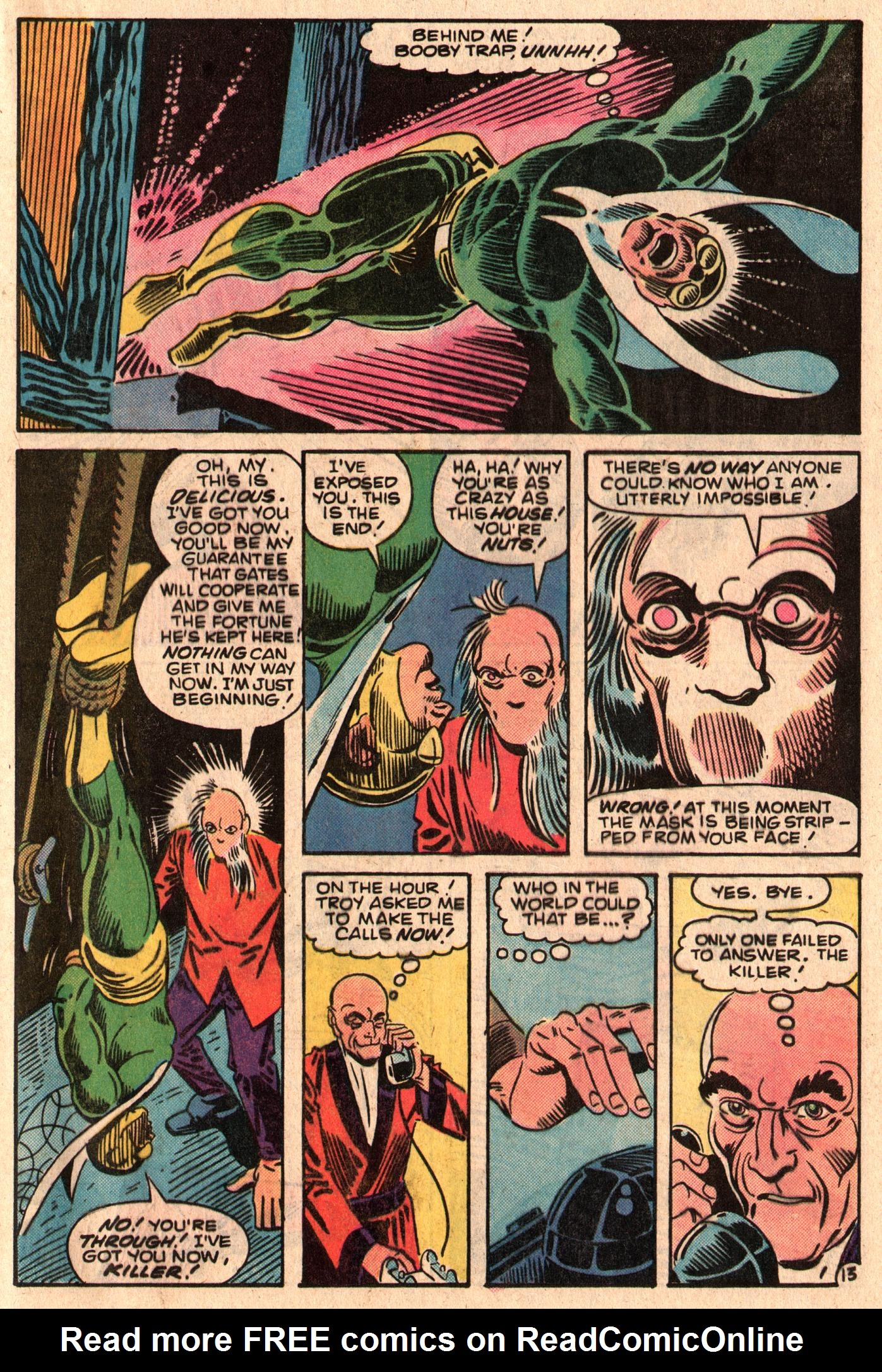 Read online The Fly (1983) comic -  Issue #6 - 17