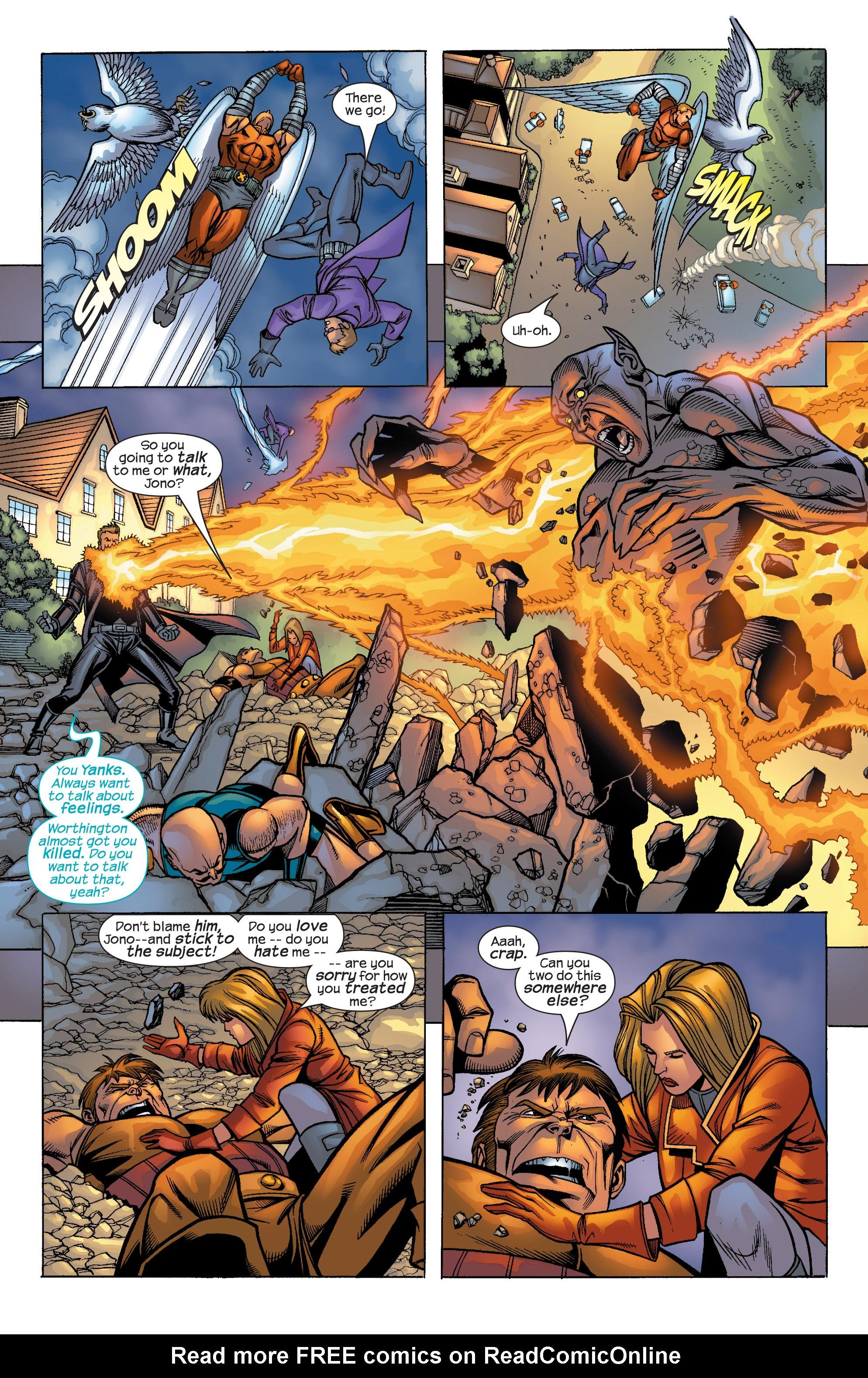 Read online Uncanny X-Men (1963) comic -  Issue #422 - 28