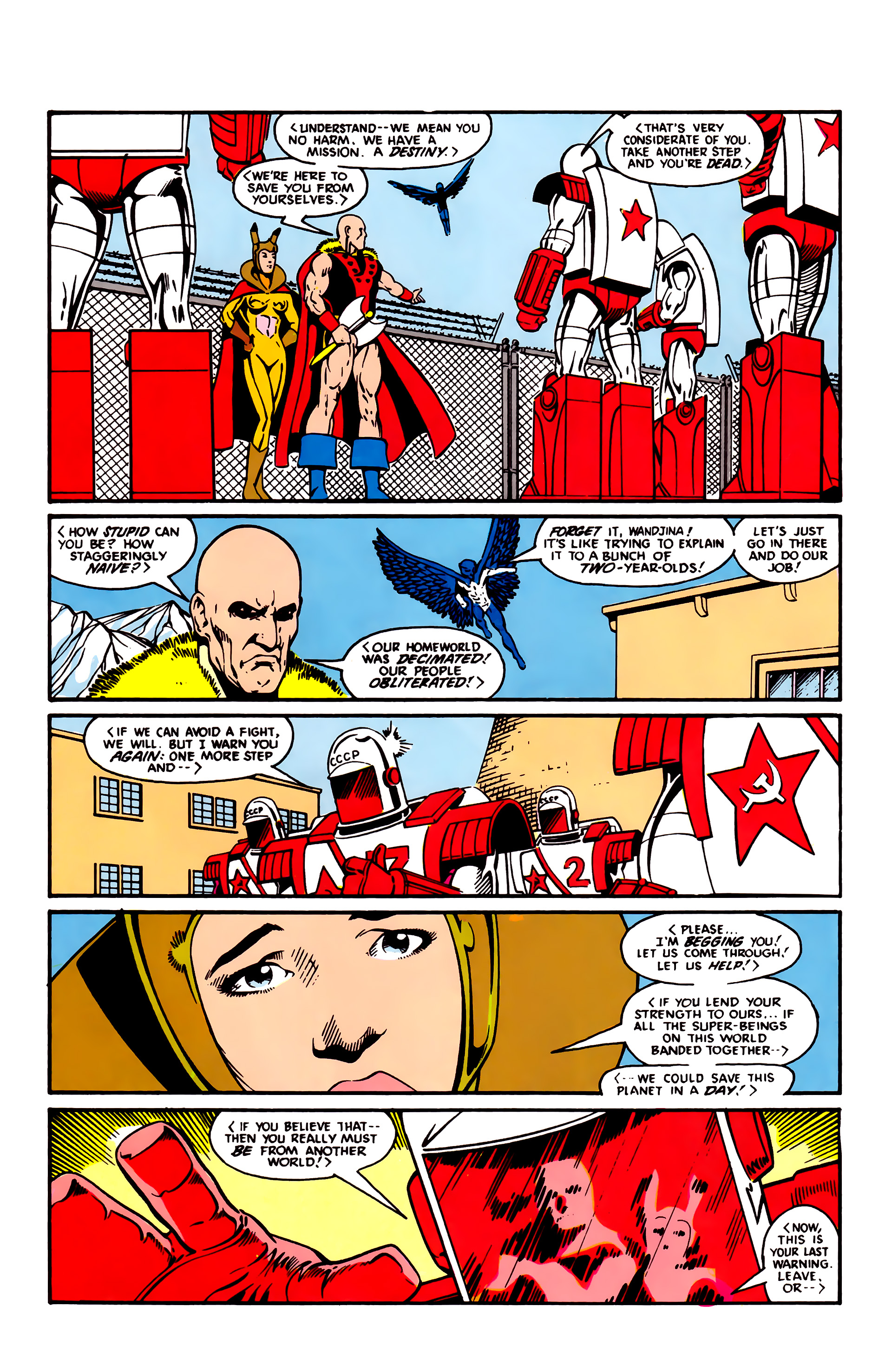 Read online Justice League (1987) comic -  Issue #3 - 18