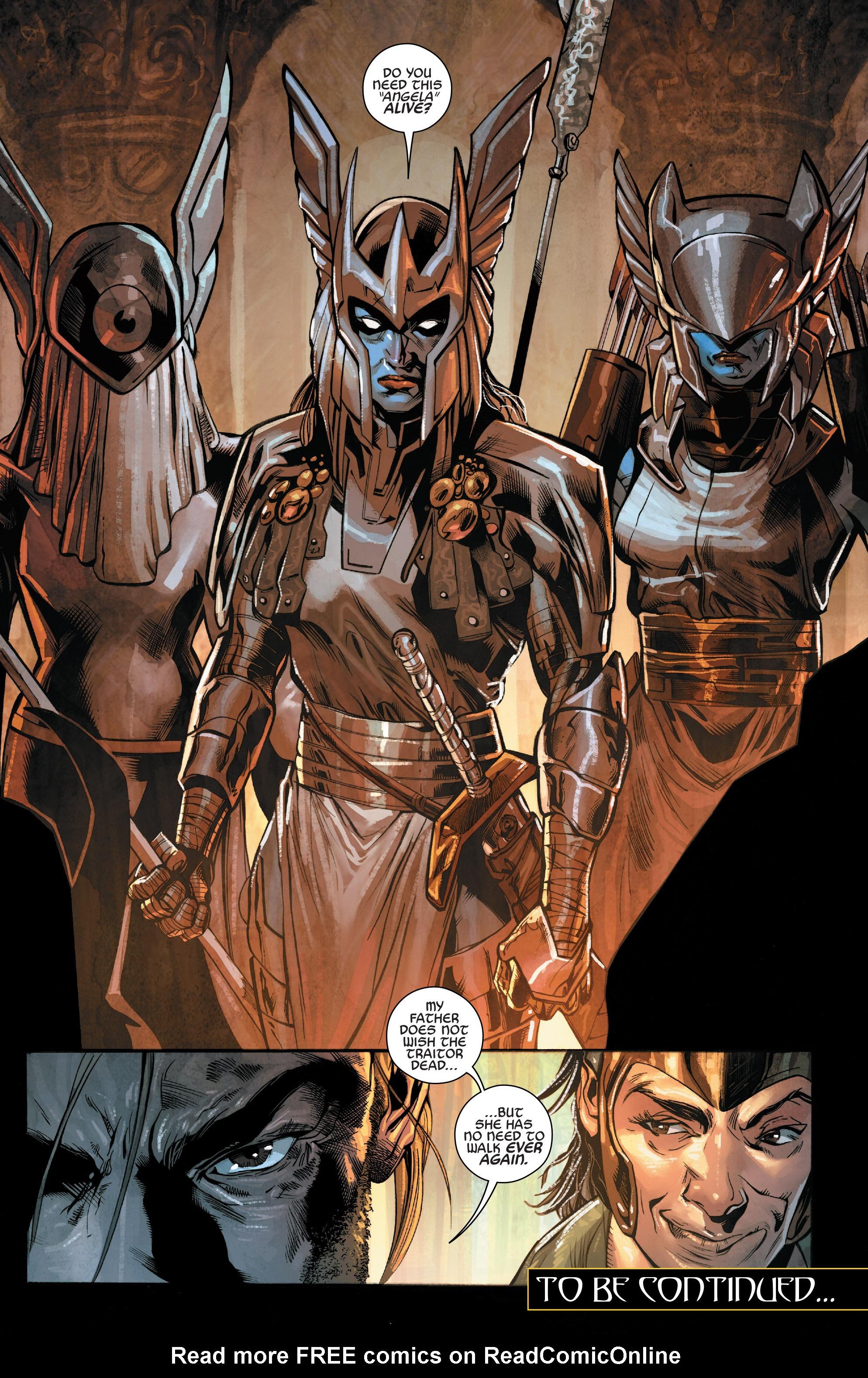 Read online Angela: Asgard's Assassin comic -  Issue #3 - 22