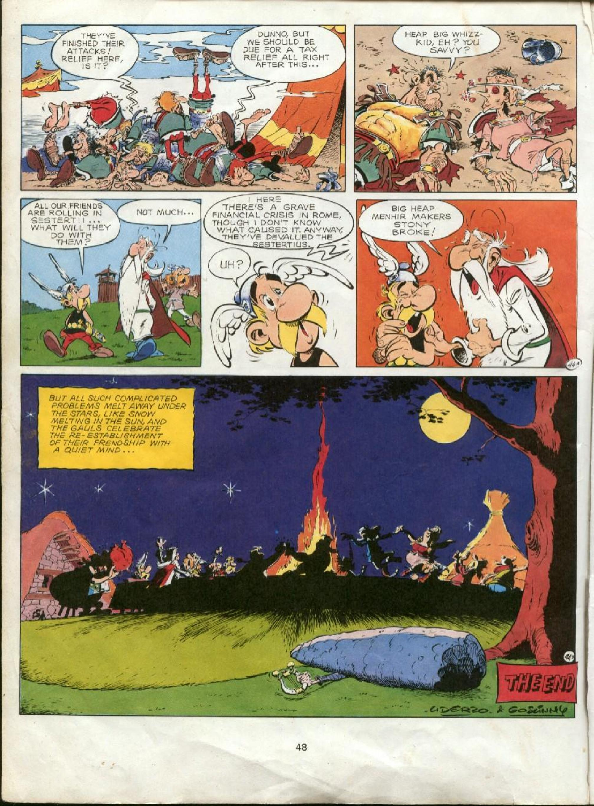 Read online Asterix comic -  Issue #23 - 45