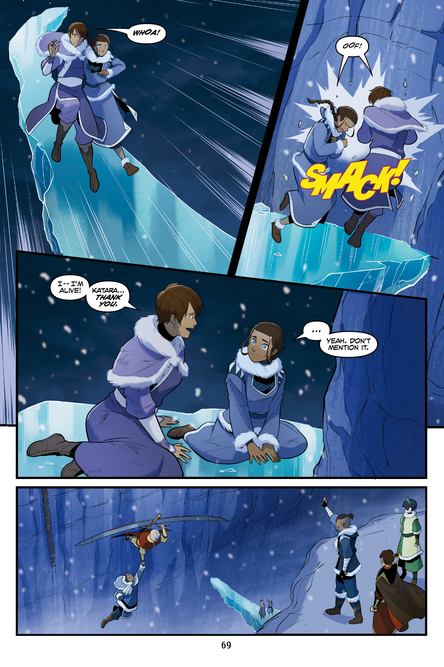 Read online Nickelodeon Avatar: The Last Airbender - North and South comic -  Issue #3 - 68