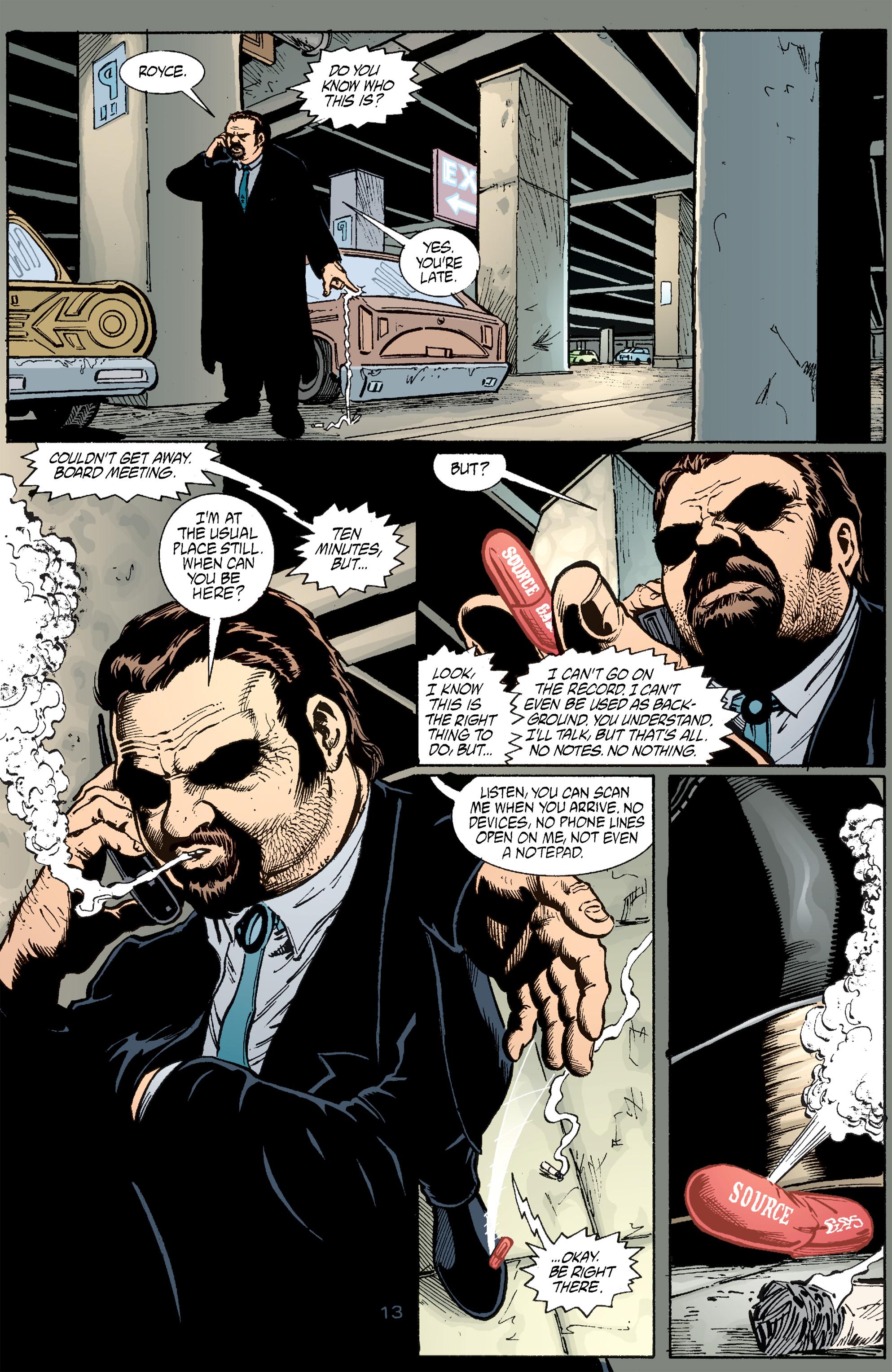 Read online Transmetropolitan comic -  Issue #51 - 14