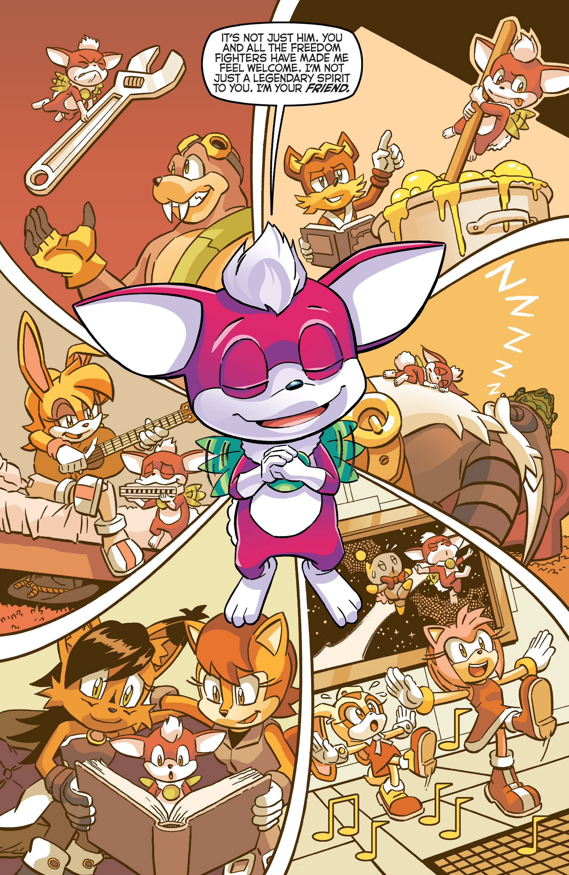 Read online Sonic The Hedgehog comic -  Issue #280 - 8
