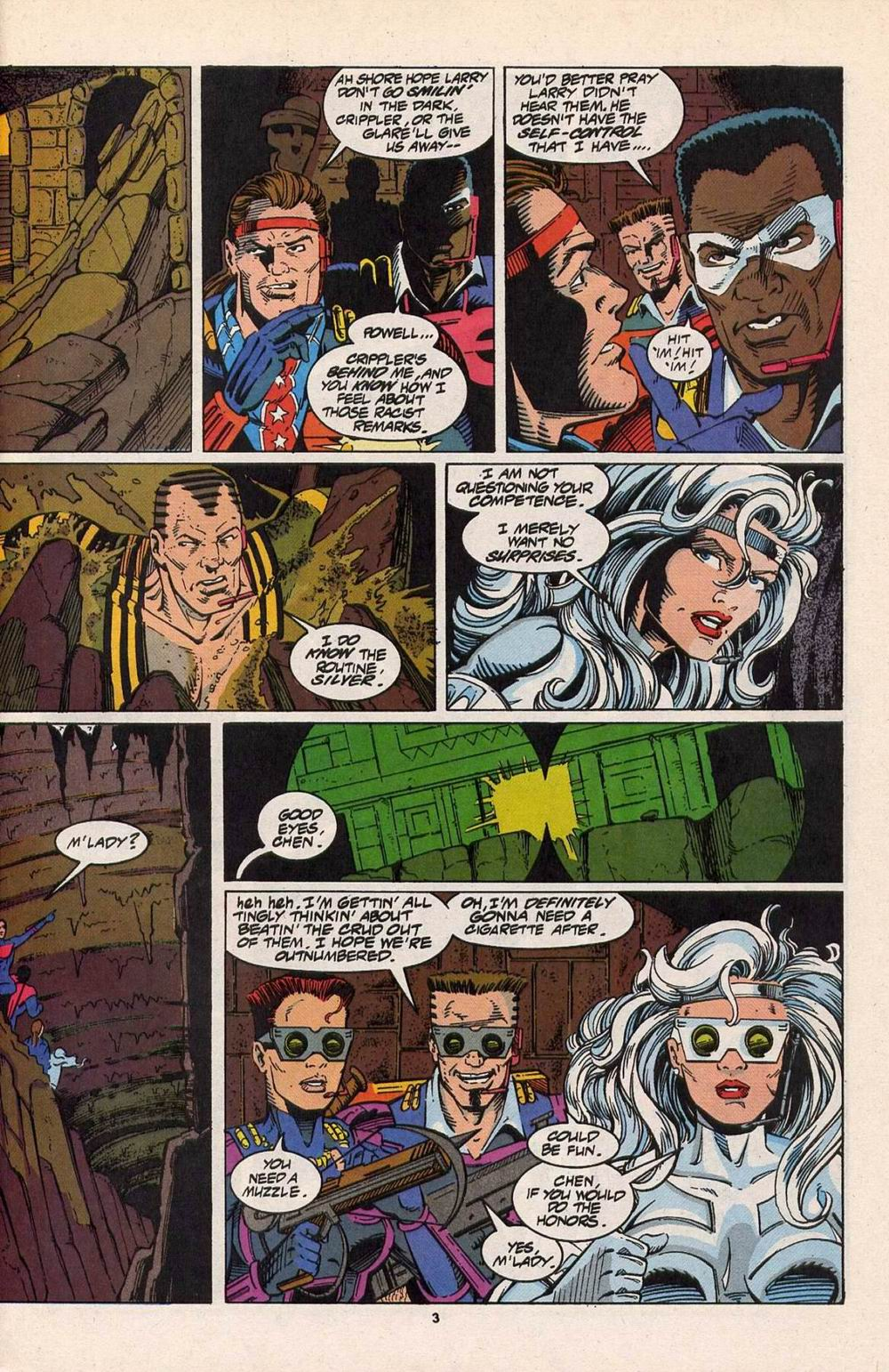 Read online Silver Sable and the Wild Pack comic -  Issue #29 - 4