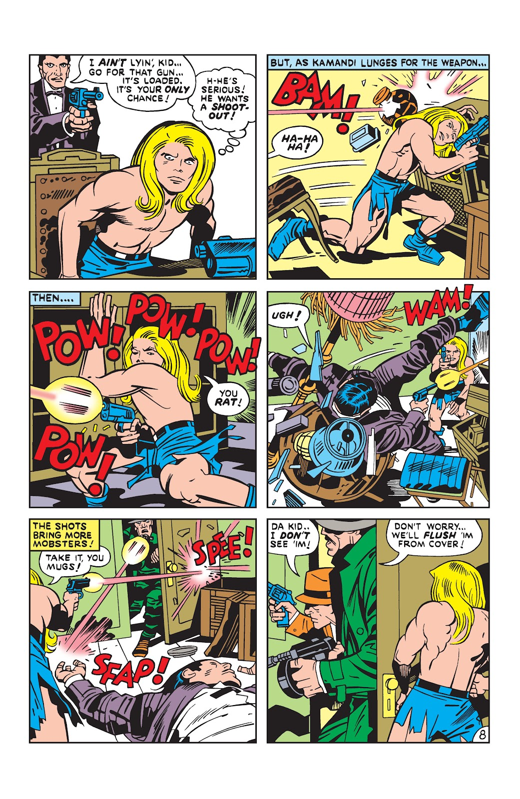 Kamandi, The Last Boy On Earth issue 19 - Page 8