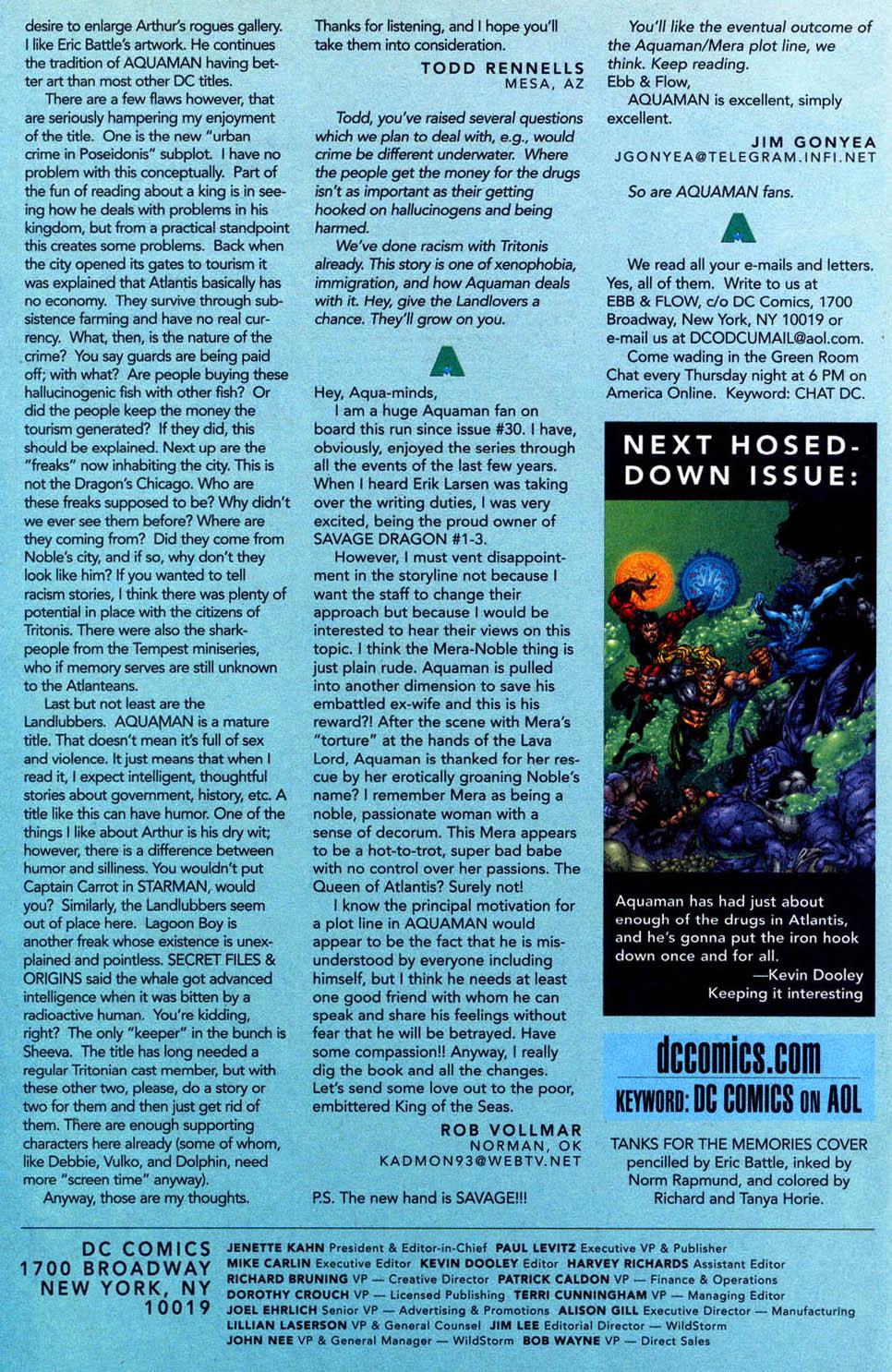 Read online Aquaman (1994) comic -  Issue #58 - 24