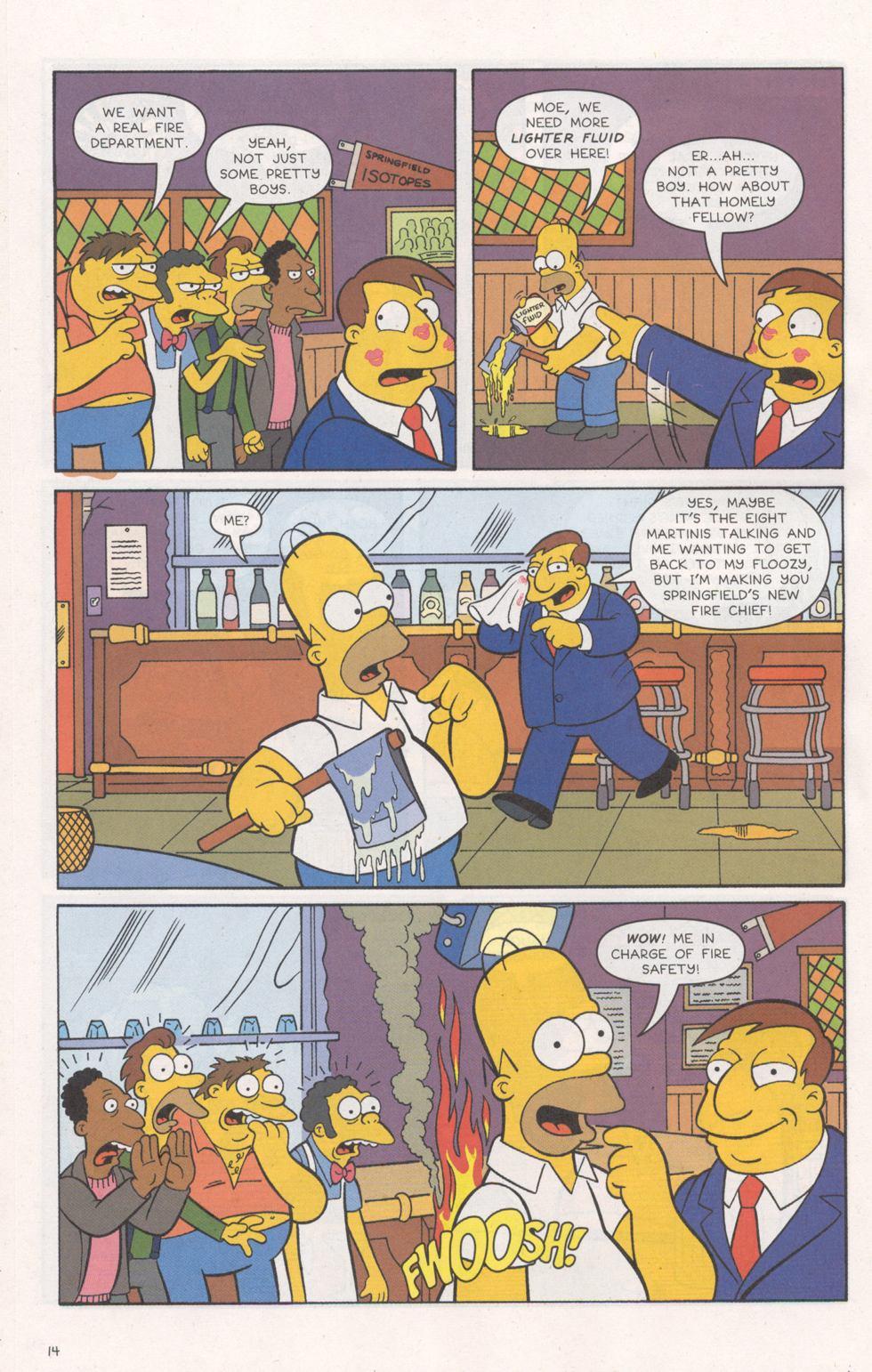 Read online Simpsons Comics comic -  Issue #93 - 15