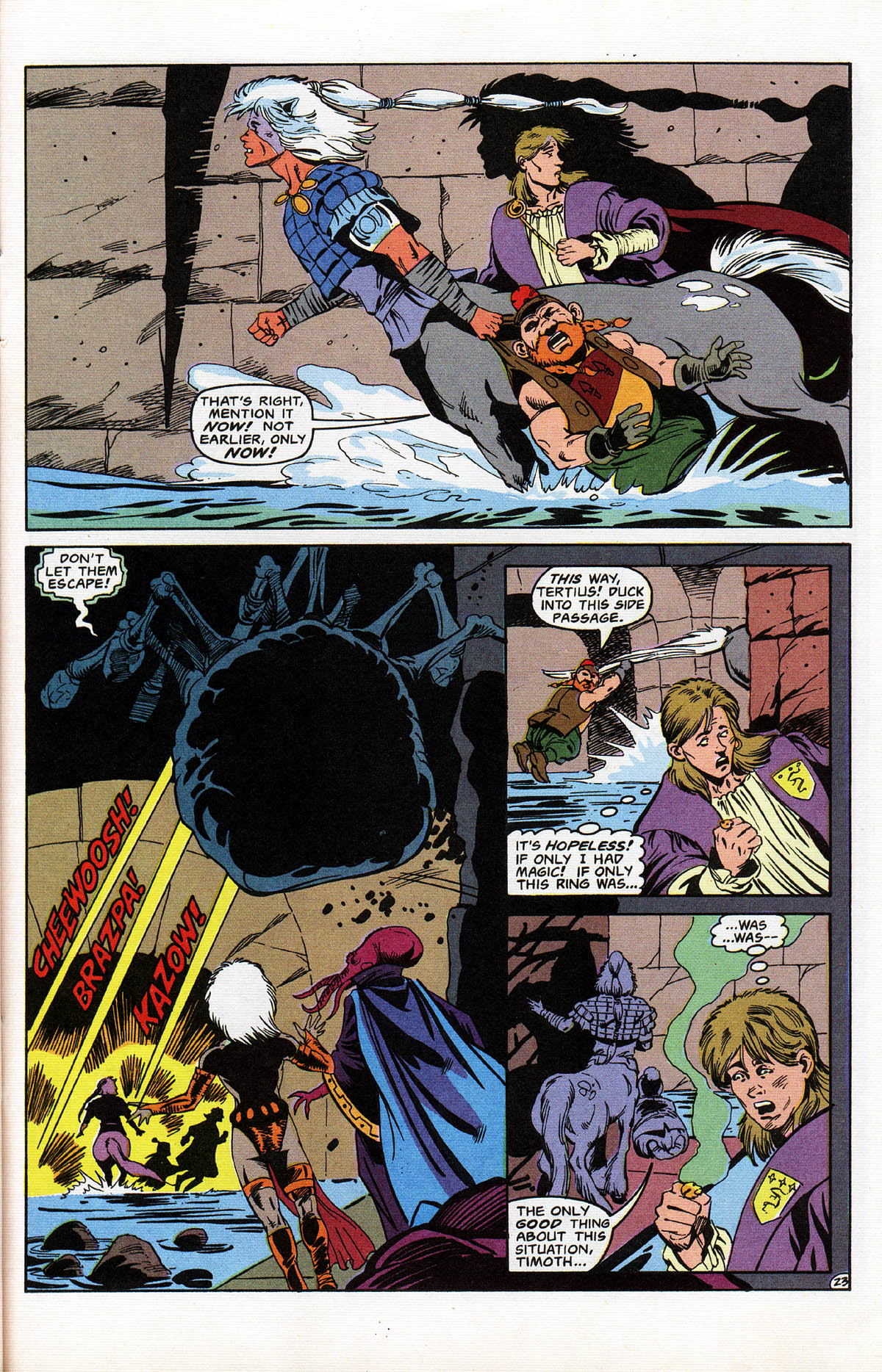 Read online Advanced Dungeons & Dragons comic -  Issue #11 - 28