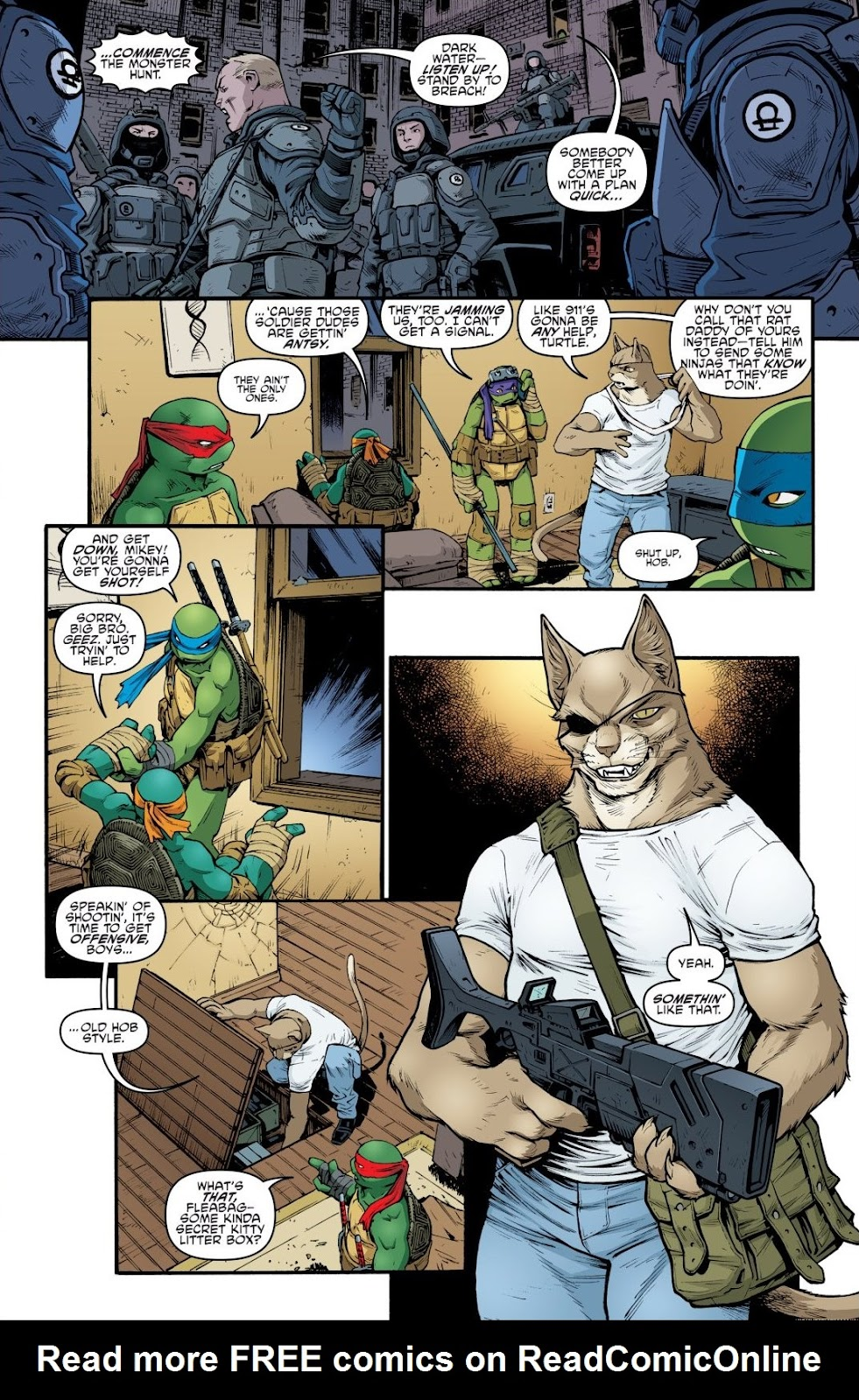 Read online Teenage Mutant Ninja Turtles: The IDW Collection comic -  Issue # TPB 9 (Part 1) - 59