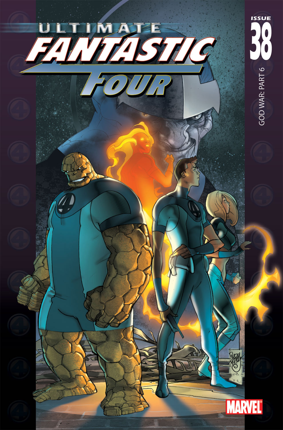 Read online Ultimate Fantastic Four (2004) comic -  Issue #38 - 1