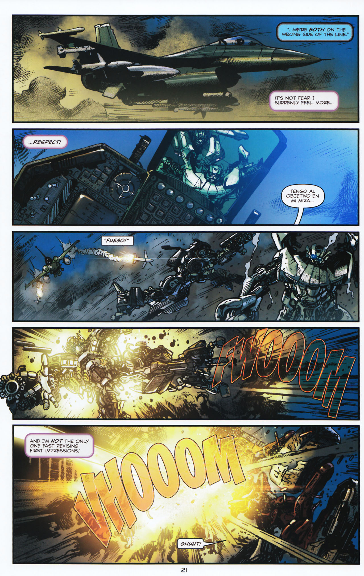 Read online Transformers: Tales of The Fallen comic -  Issue #2 - 22