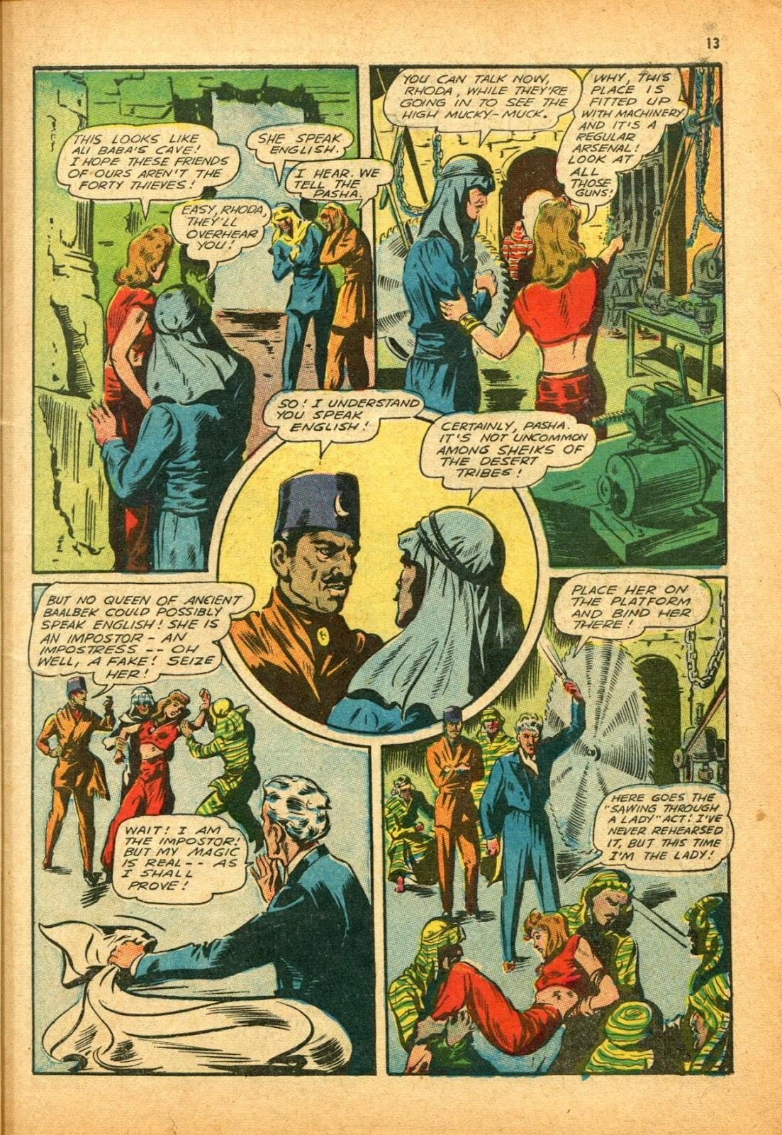 Read online Super-Magician Comics comic -  Issue #12 - 13