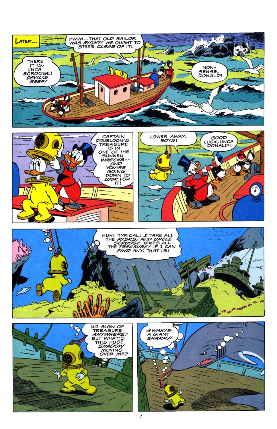 Read online Uncle Scrooge (1953) comic -  Issue #248 - 8