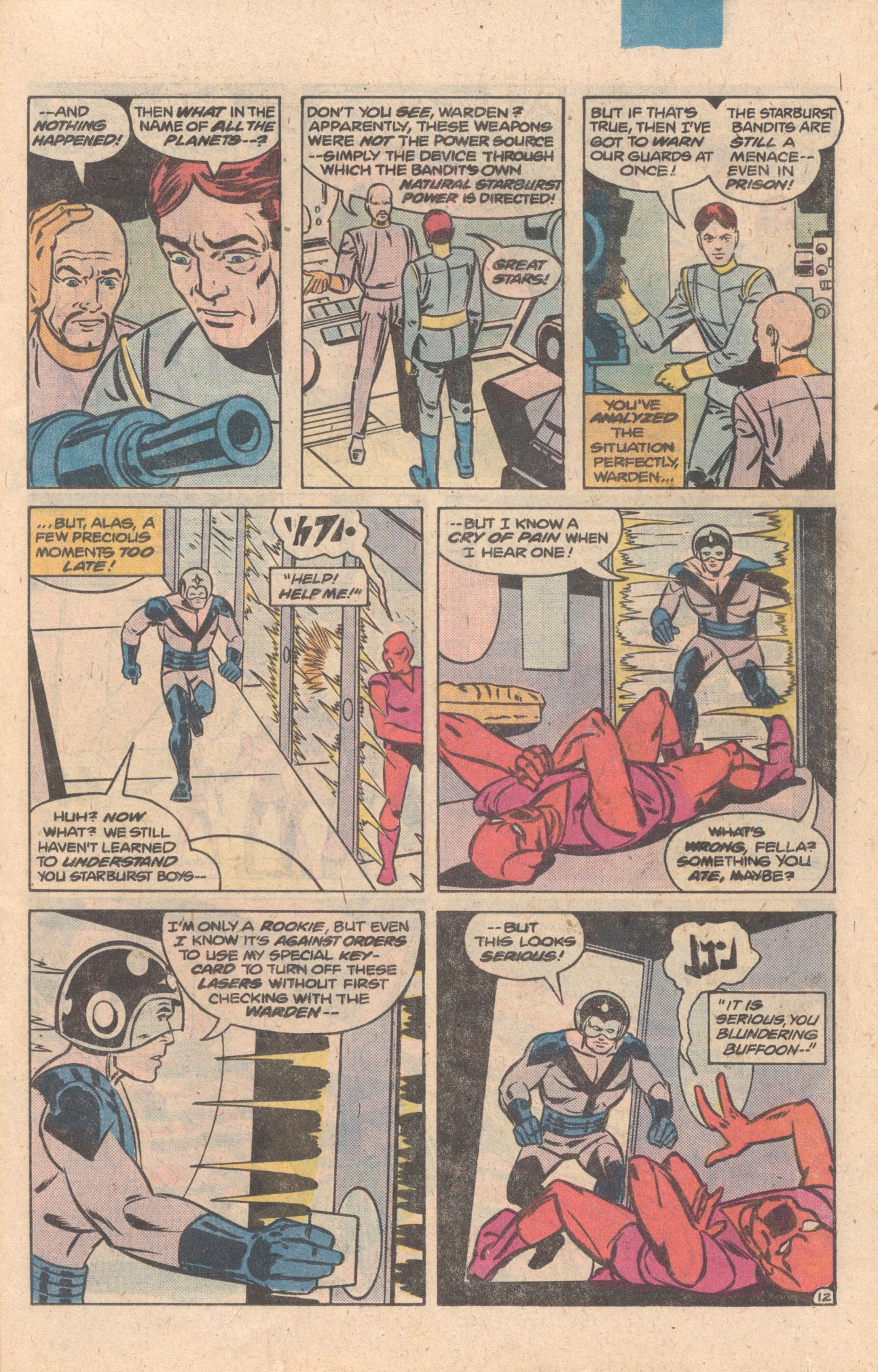 Legion of Super-Heroes (1980) 272 Page 12