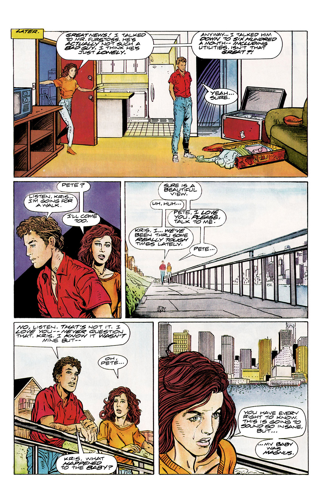 Read online Harbinger (1992) comic -  Issue #10 - 8