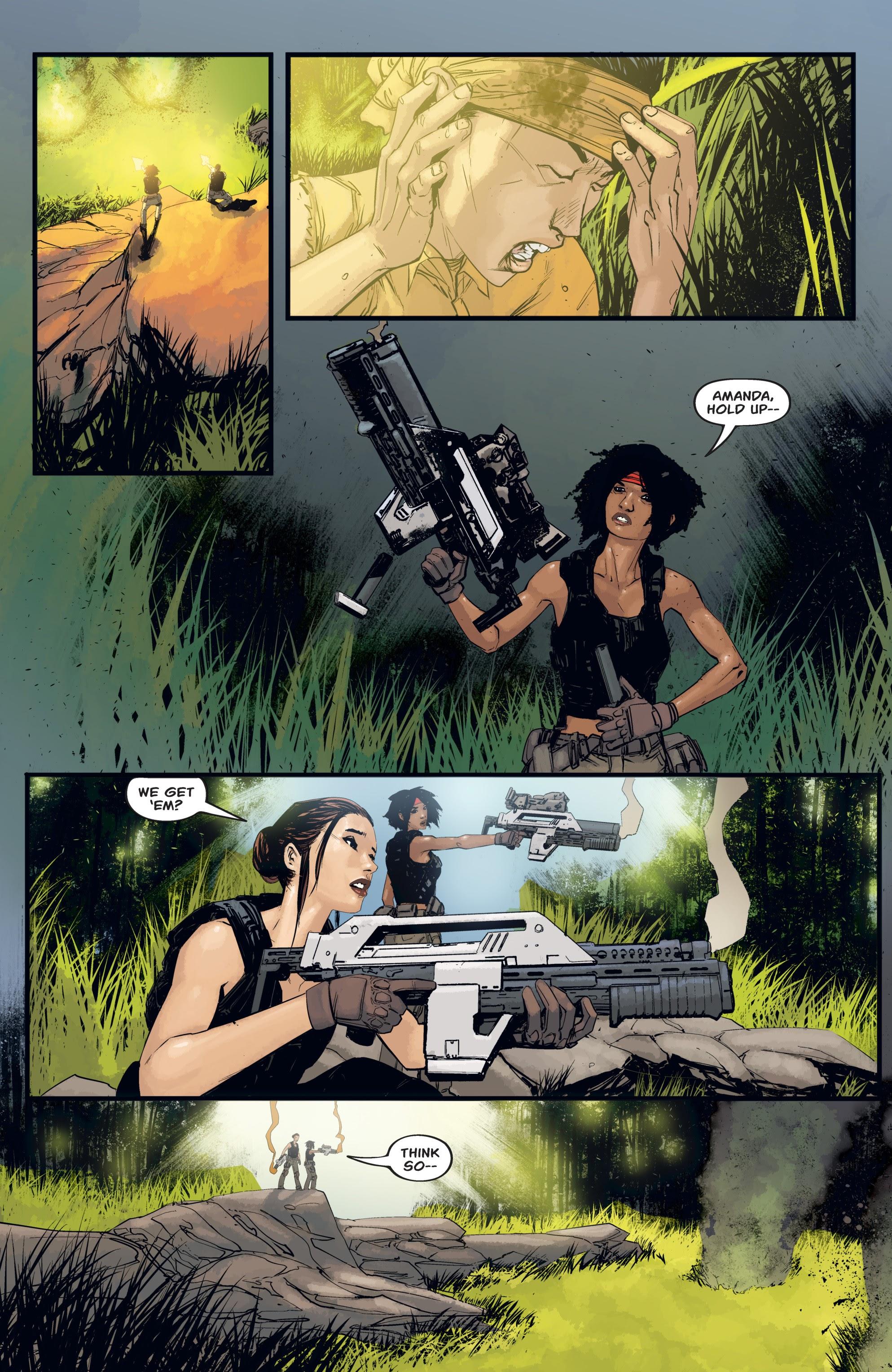 Read online Aliens: Resistance comic -  Issue # _TPB - 62