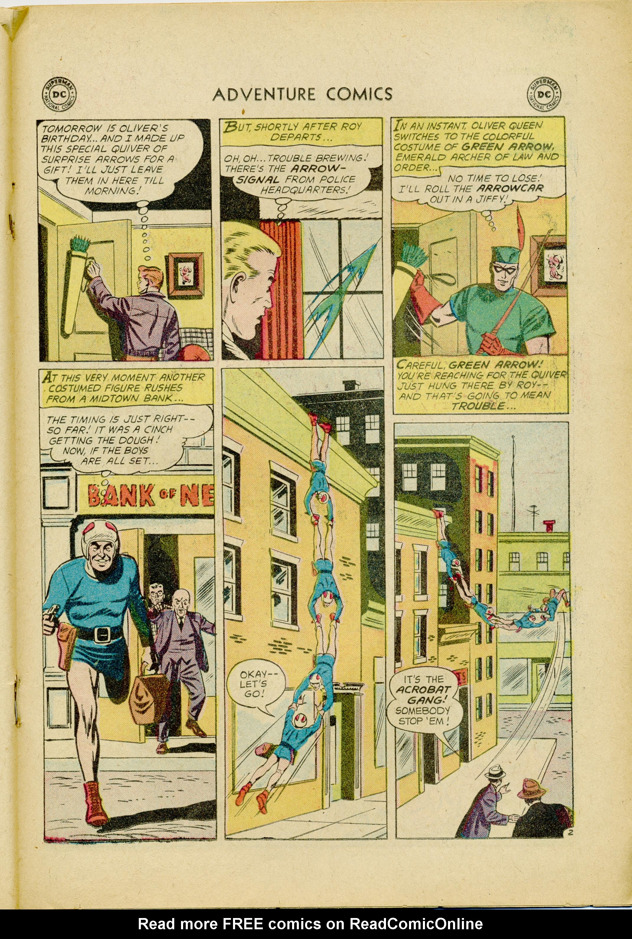 Read online Adventure Comics (1938) comic -  Issue #245 - 19