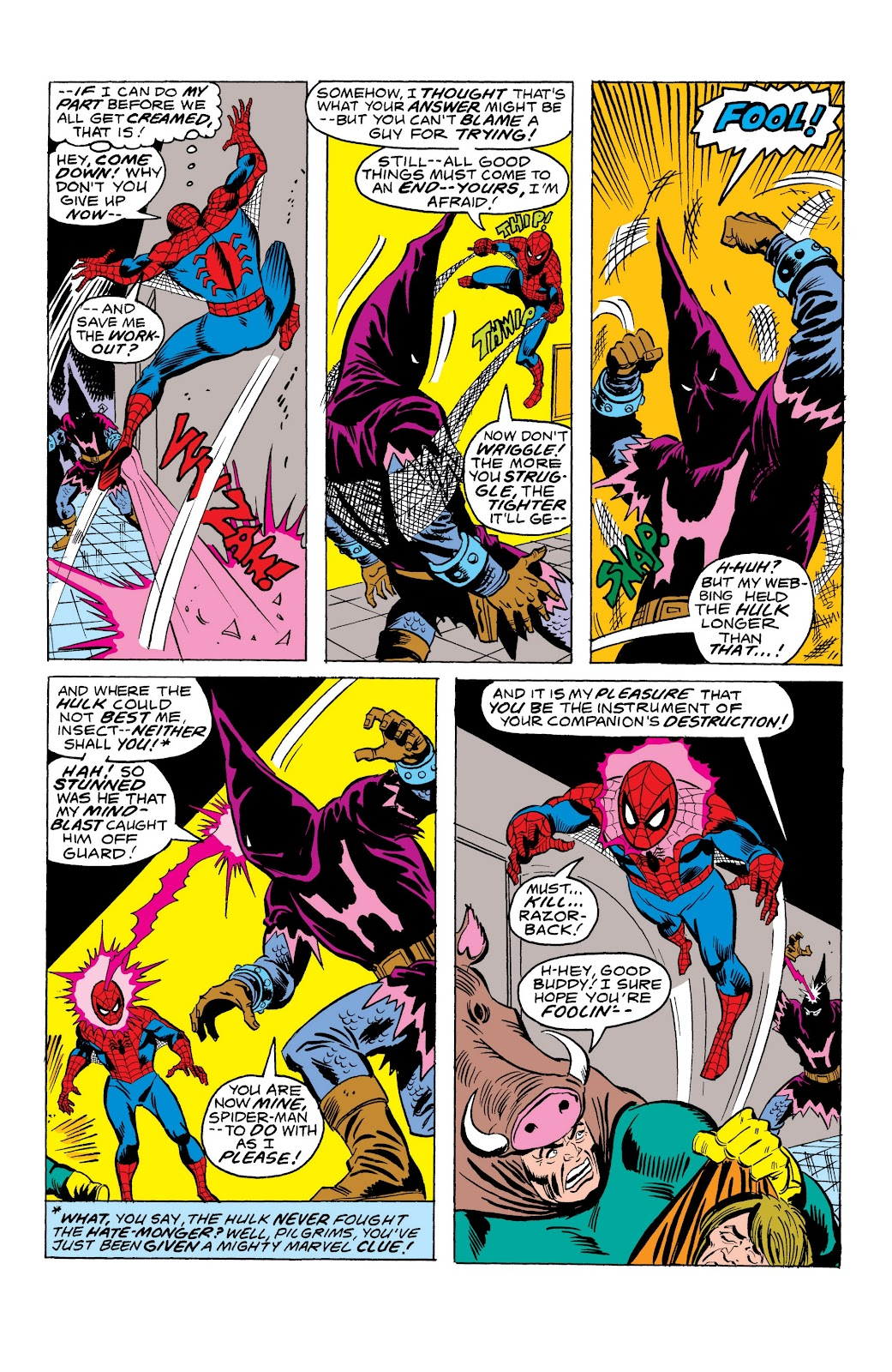Read online Marvel Masterworks: The Spectacular Spider-Man comic -  Issue # TPB (Part 3) - 39
