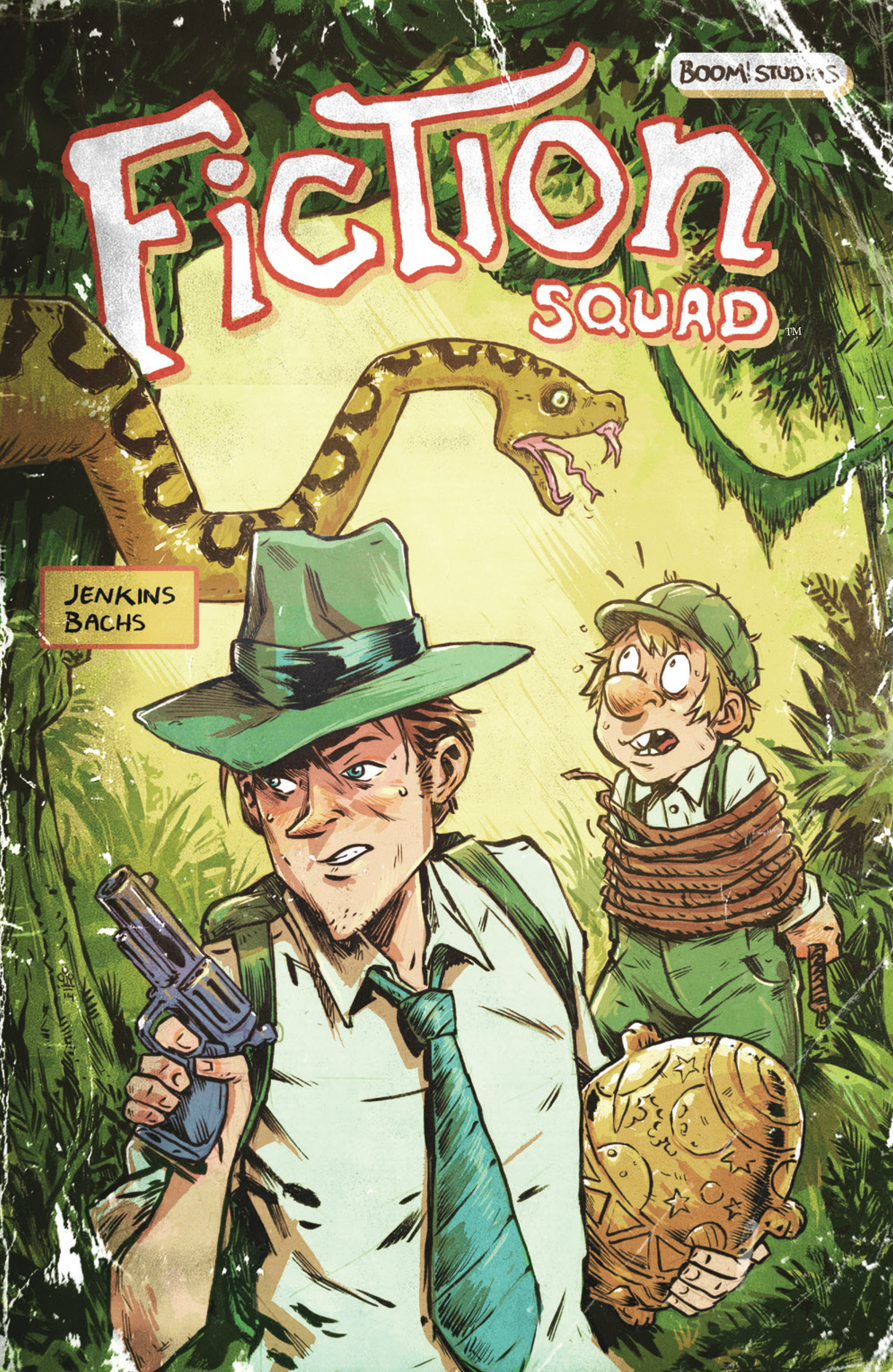 Read online Fiction Squad comic -  Issue #5 - 2