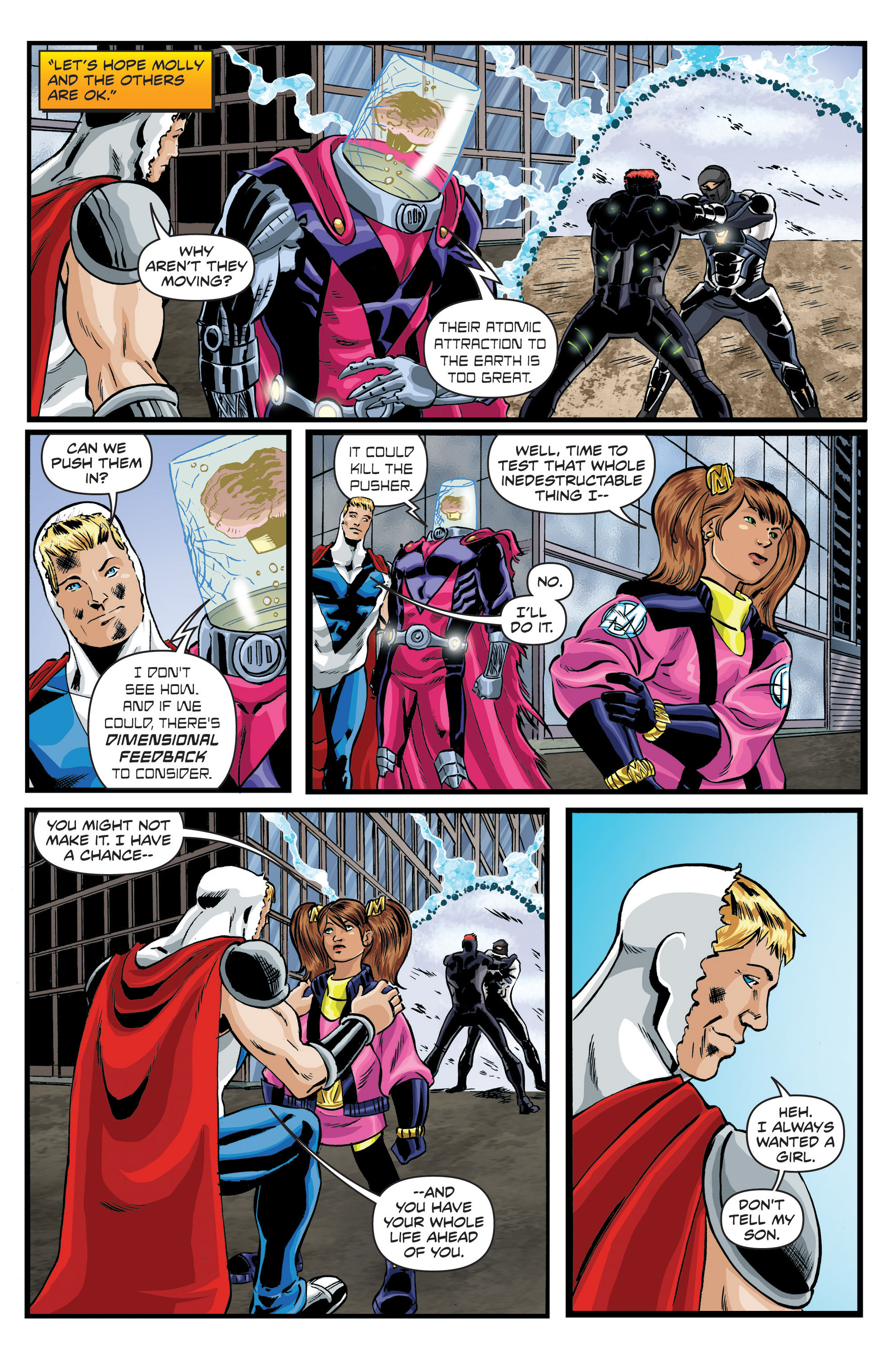 Read online Actionverse comic -  Issue #6 - 17
