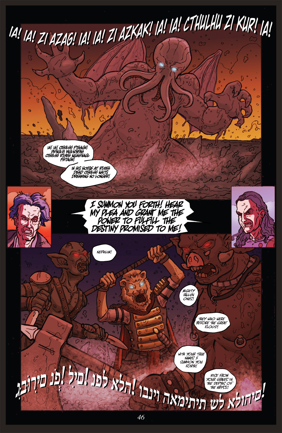 Read online Nightmare World comic -  Issue # Vol. 2 Leave the Light On - 47