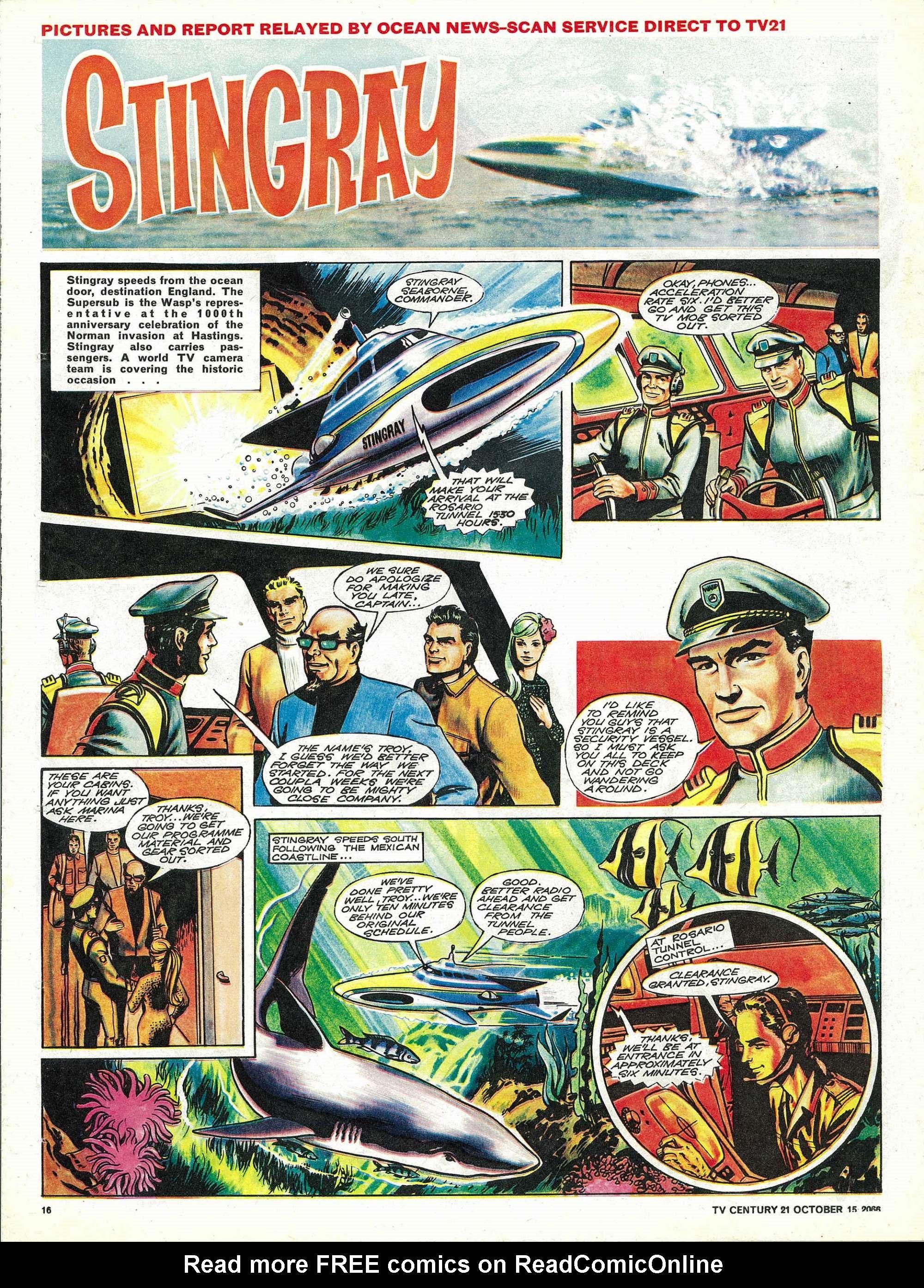 Read online TV Century 21 (TV 21) comic -  Issue #91 - 15