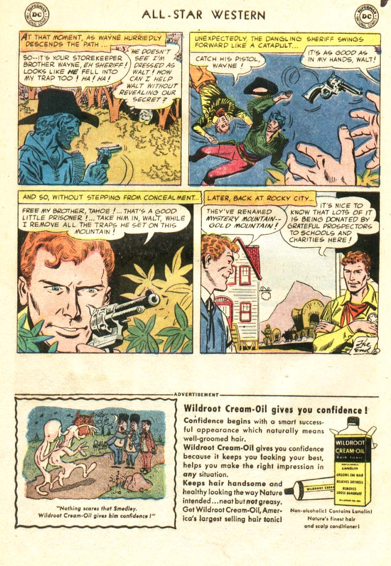 Read online All-Star Western (1951) comic -  Issue #91 - 7