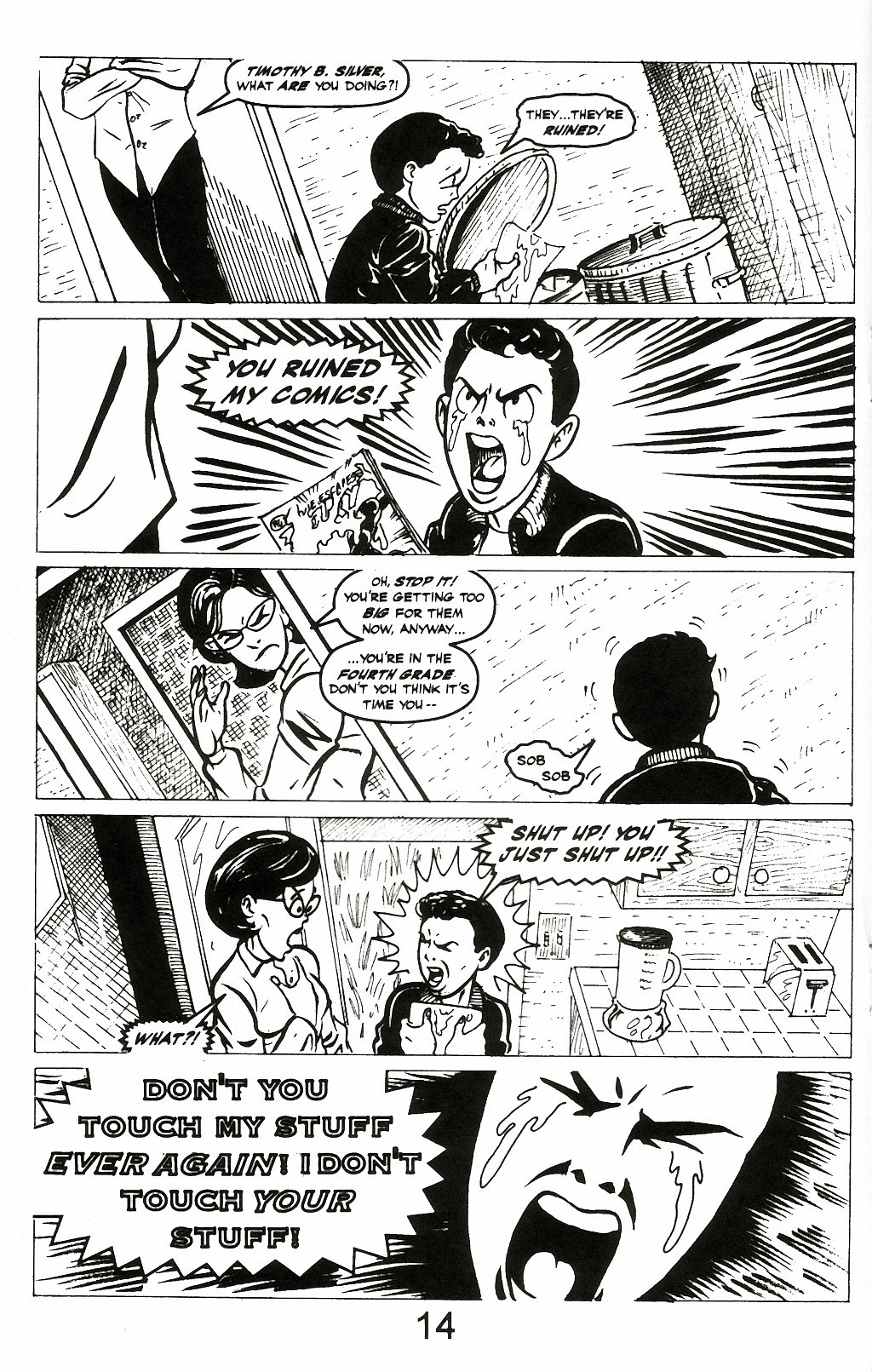Read online A Touch of Silver comic -  Issue #2 - 16
