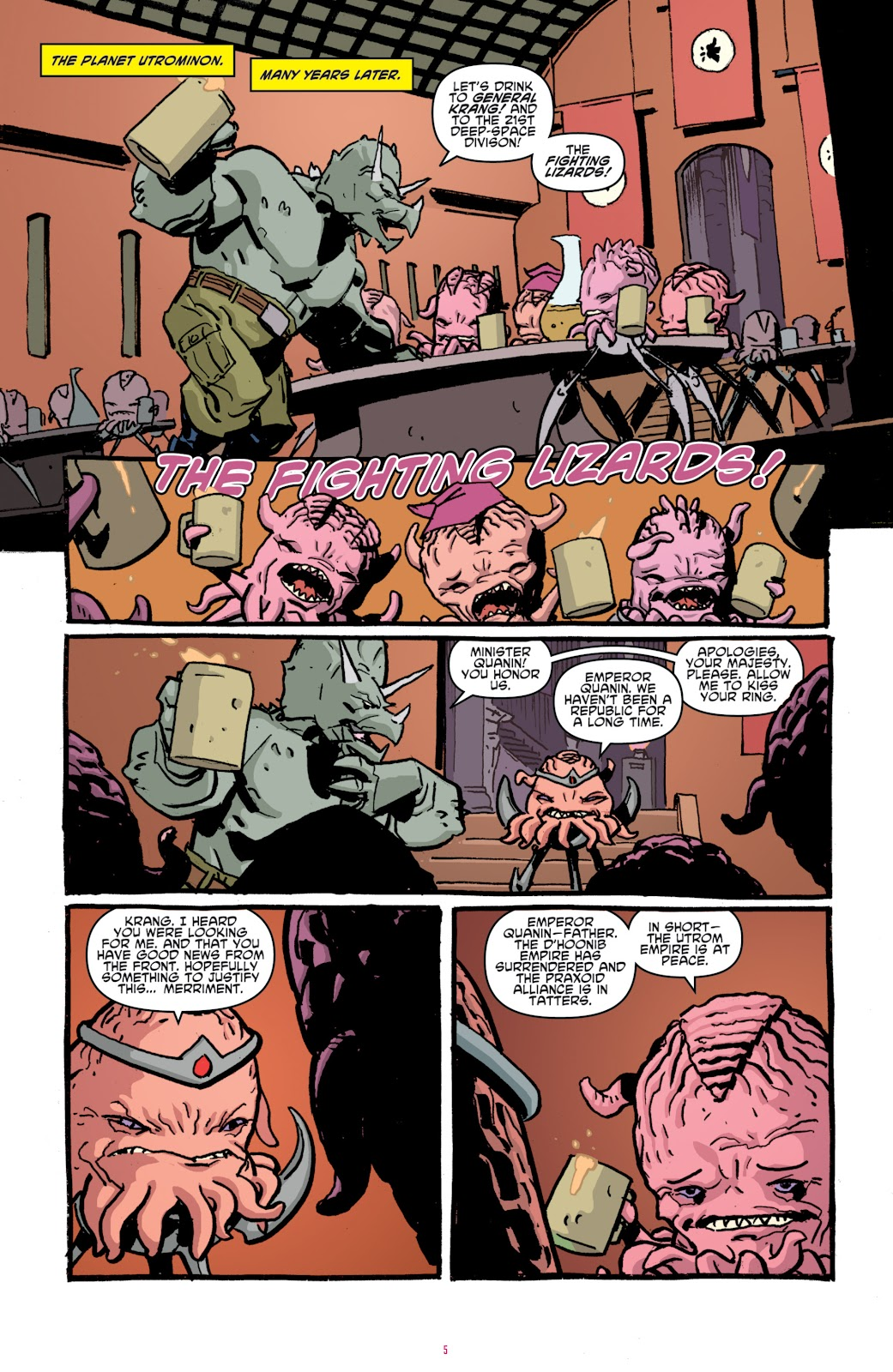 Read online Teenage Mutant Ninja Turtles: The IDW Collection comic -  Issue # TPB 4 (Part 1) - 34