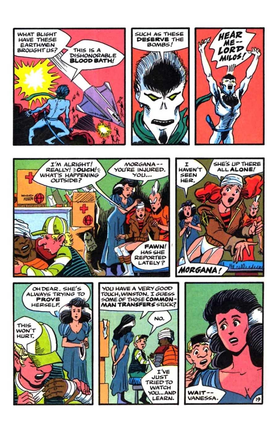 Read online Mars comic -  Issue #9 - 21