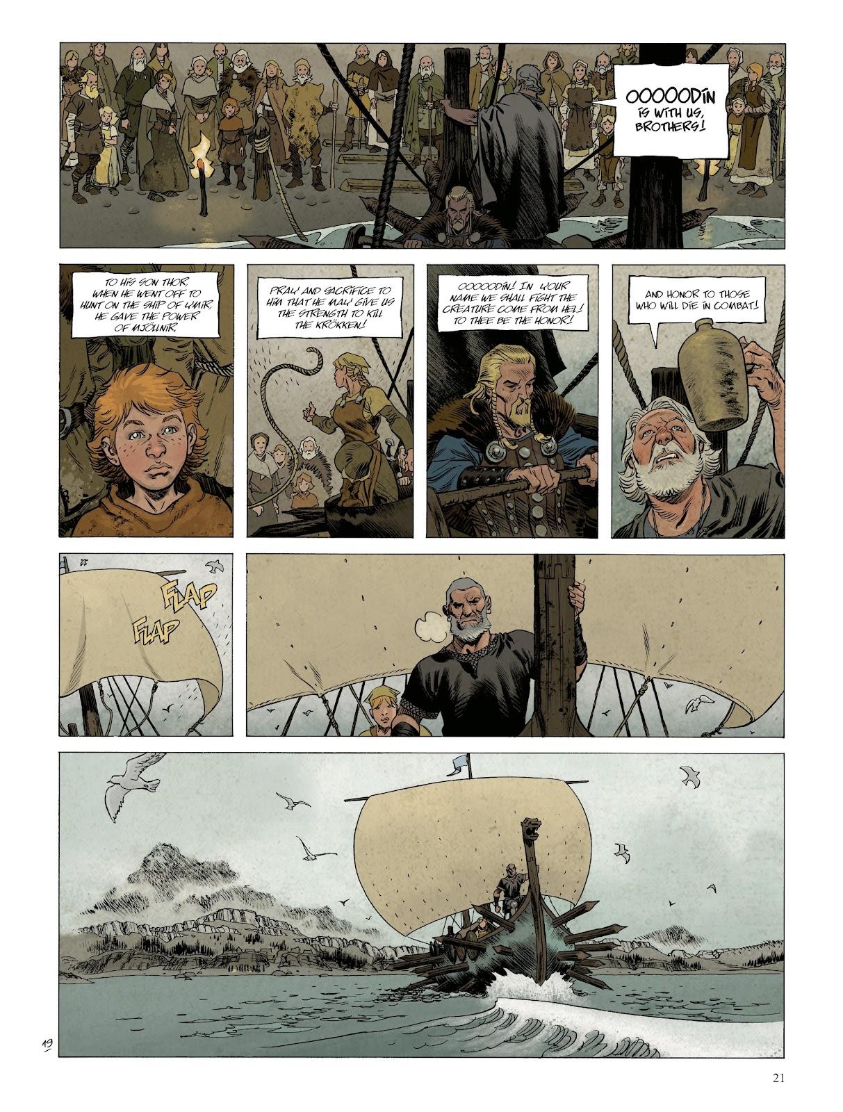 Read online Asgard comic -  Issue #1 - 23