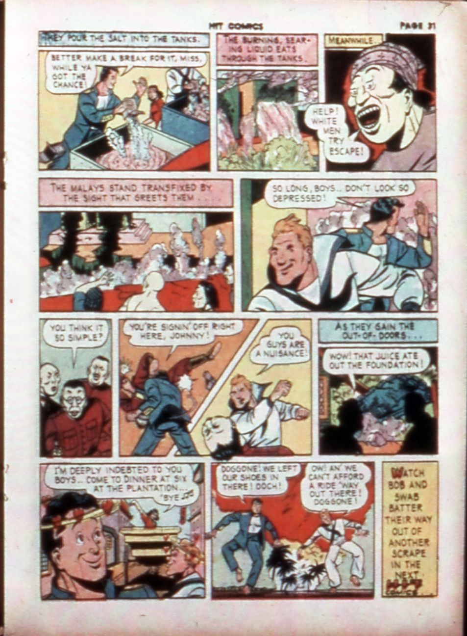 Read online Hit Comics comic -  Issue #14 - 33