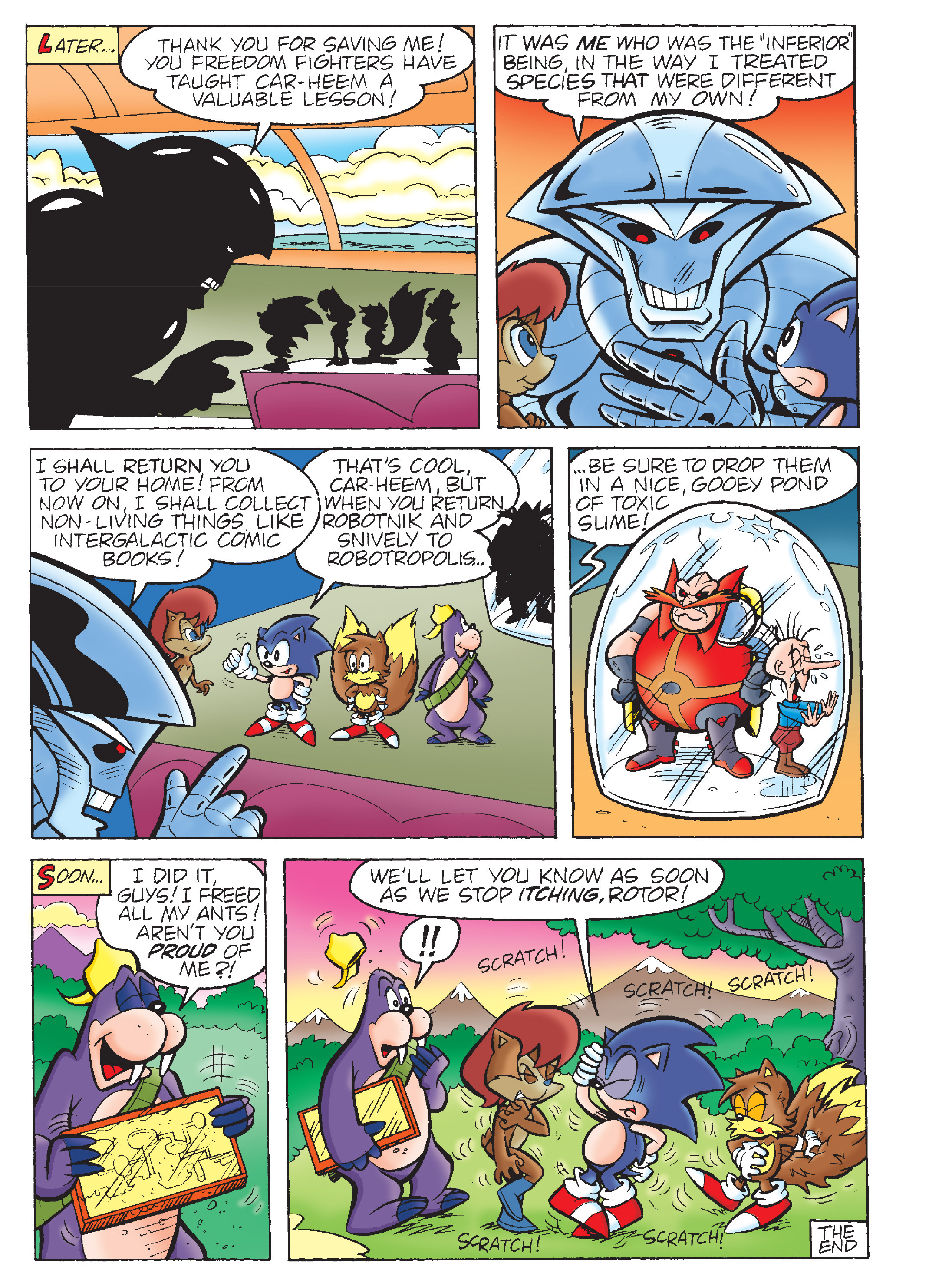 Read online Sonic Super Digest comic -  Issue #7 - 113